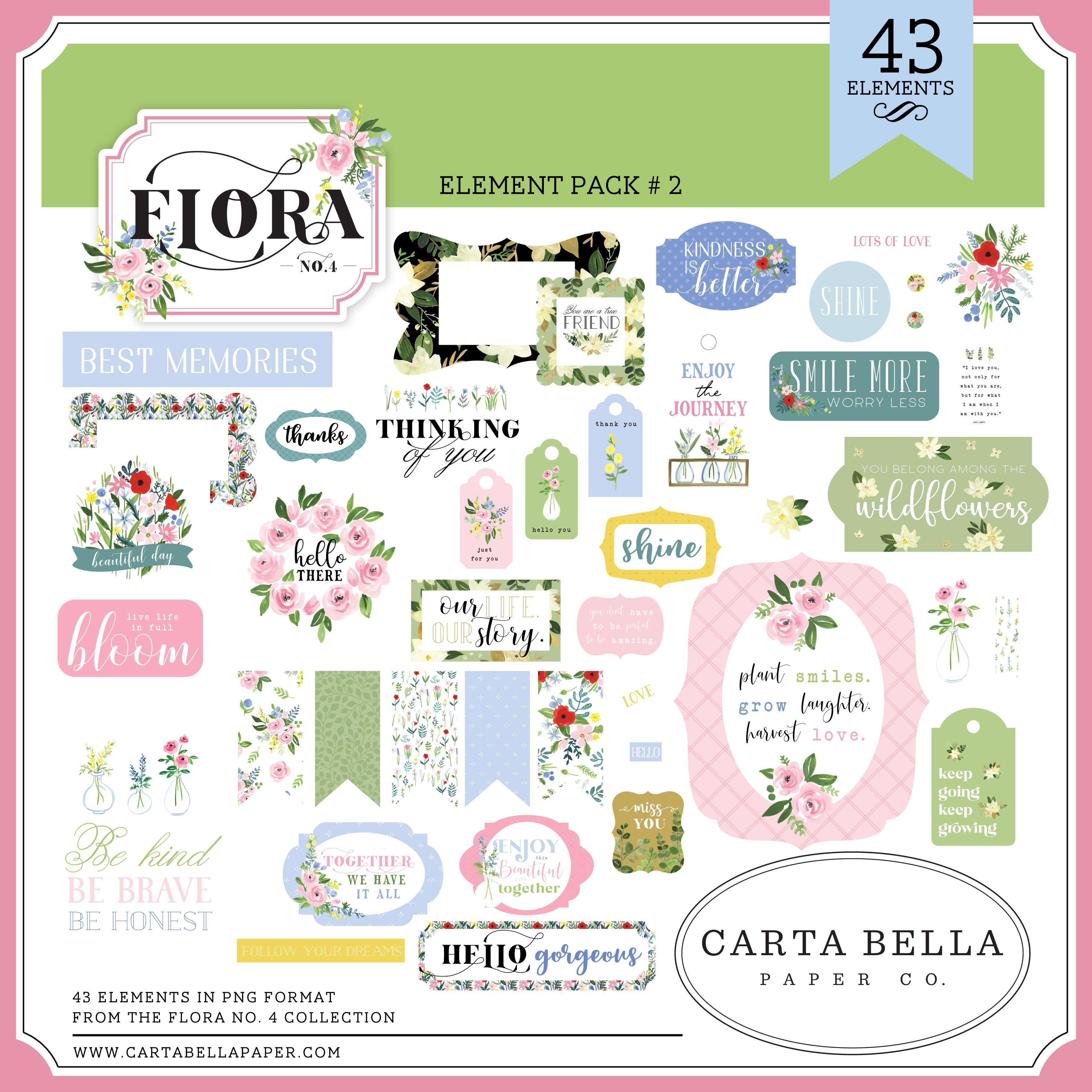 Flora No. 4 Element Pack #2