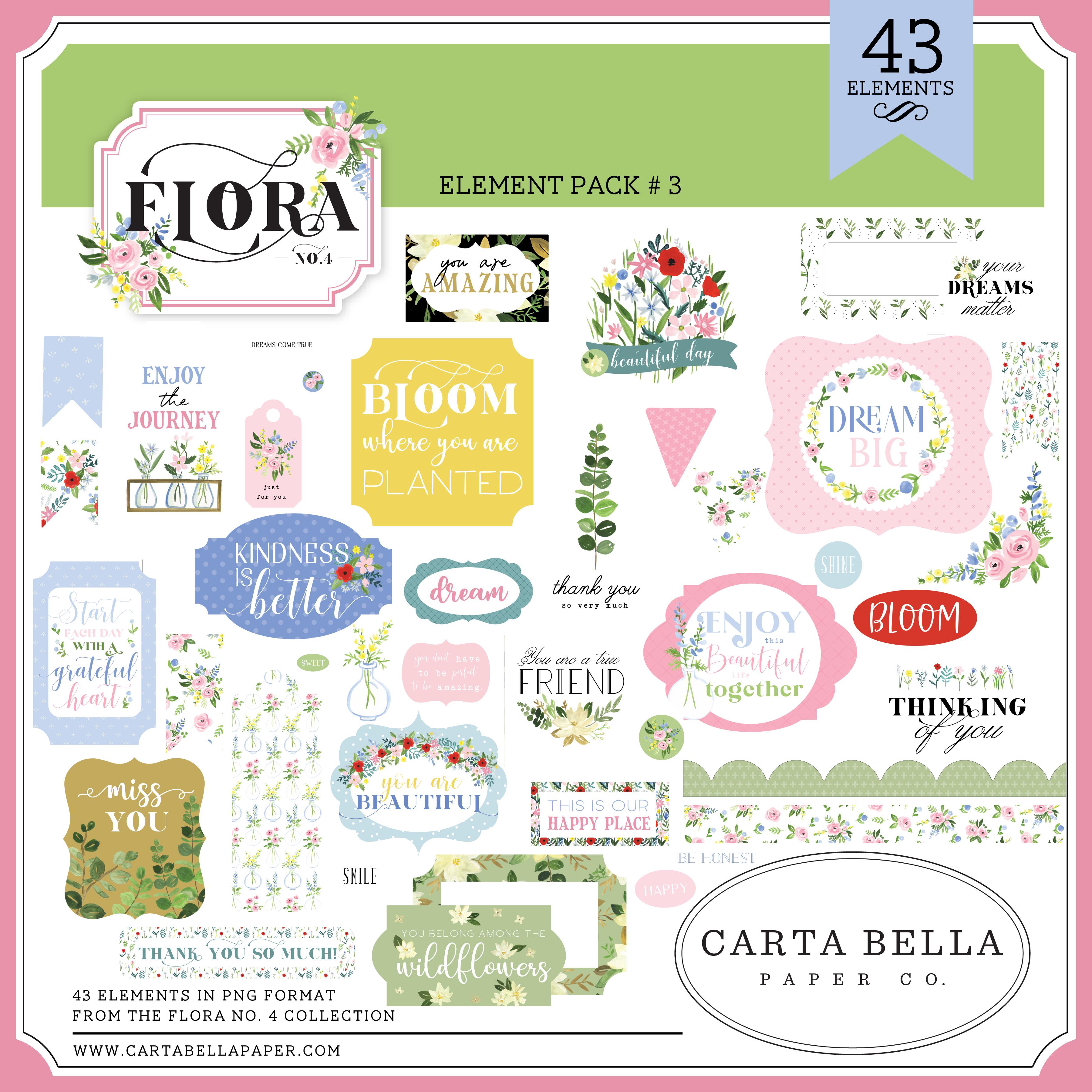 Flora No. 4 Element Pack #3