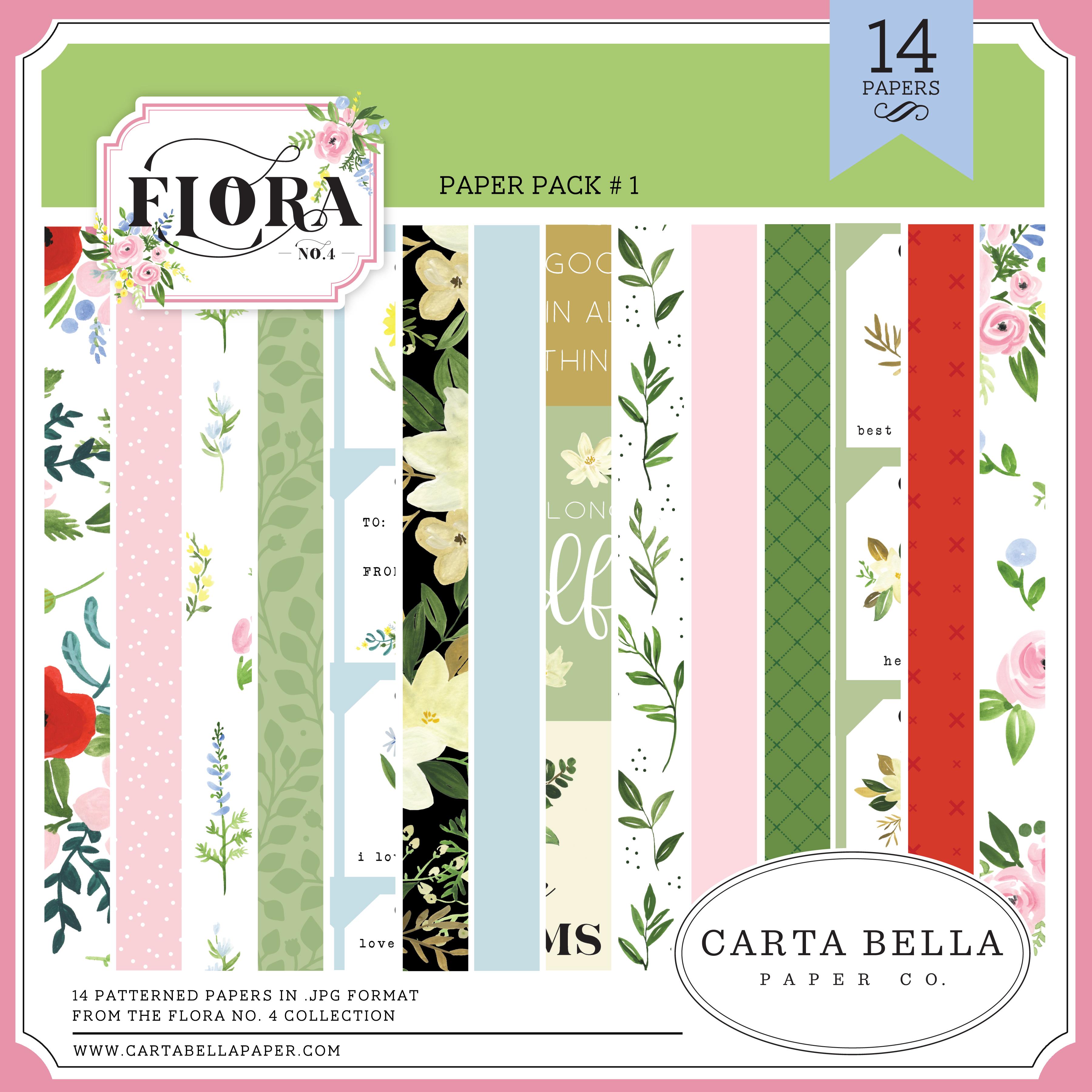 Flora No. 4 Paper Pack #1