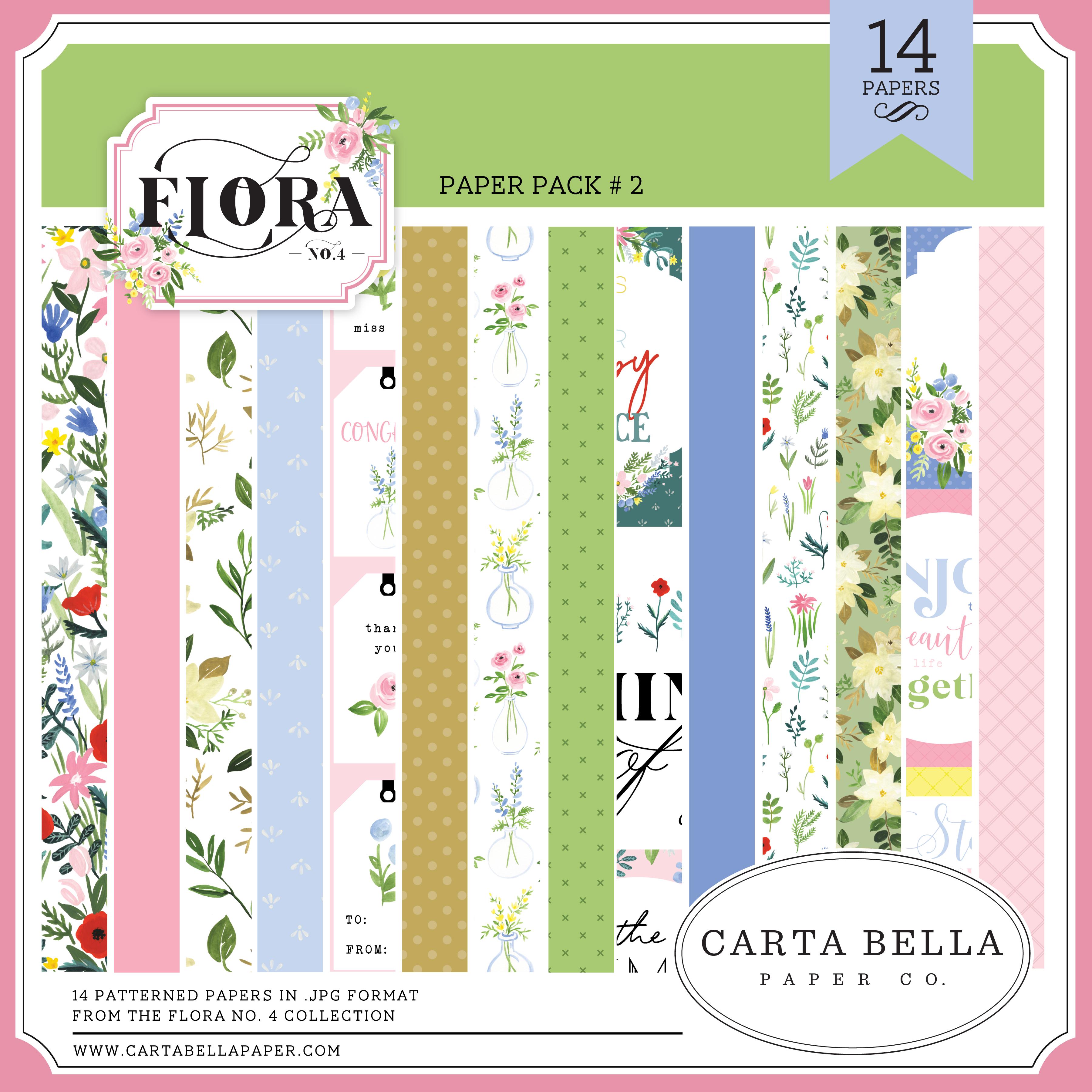 Flora No. 4 Paper Pack #2