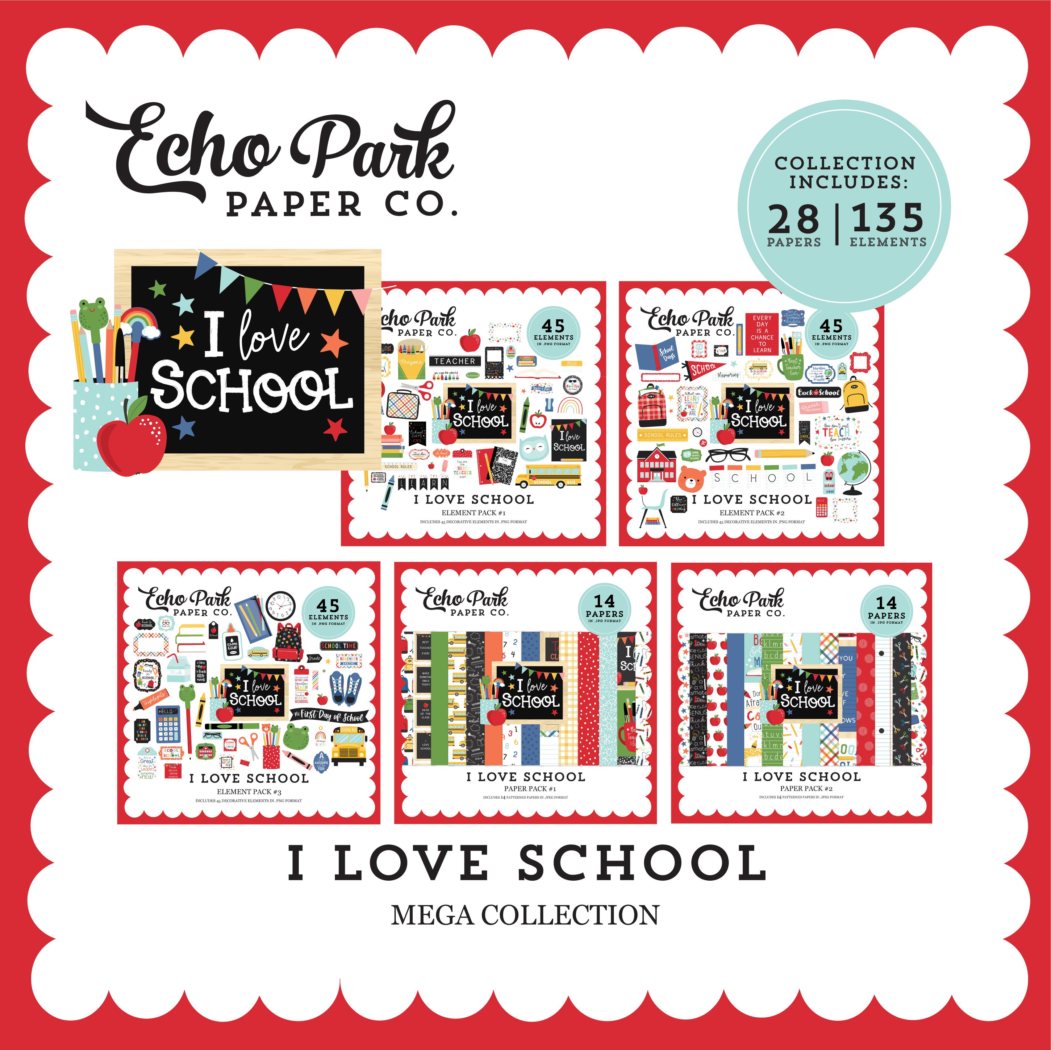 I Love School Mega Collection