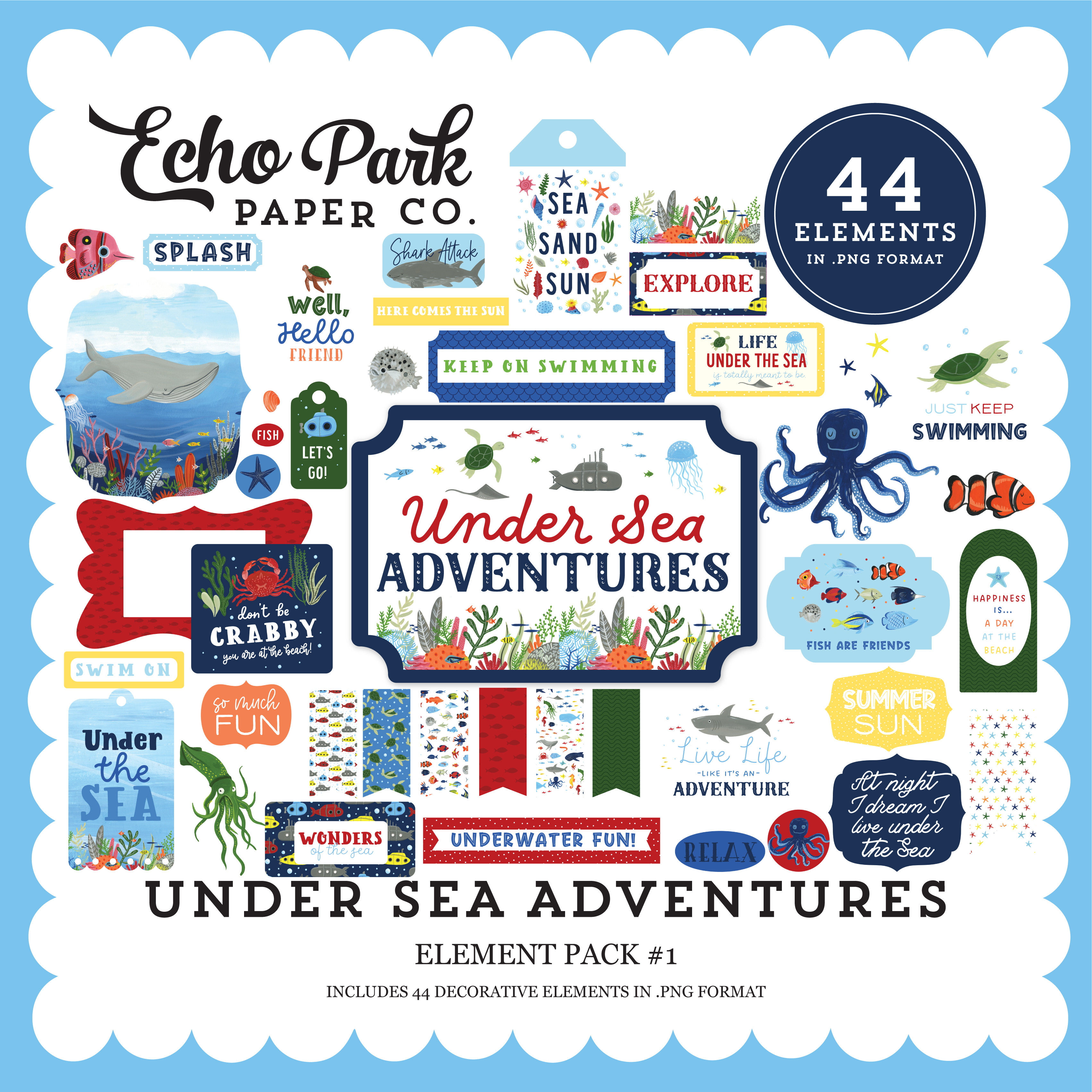 Under Sea Adventures Element Pack #1