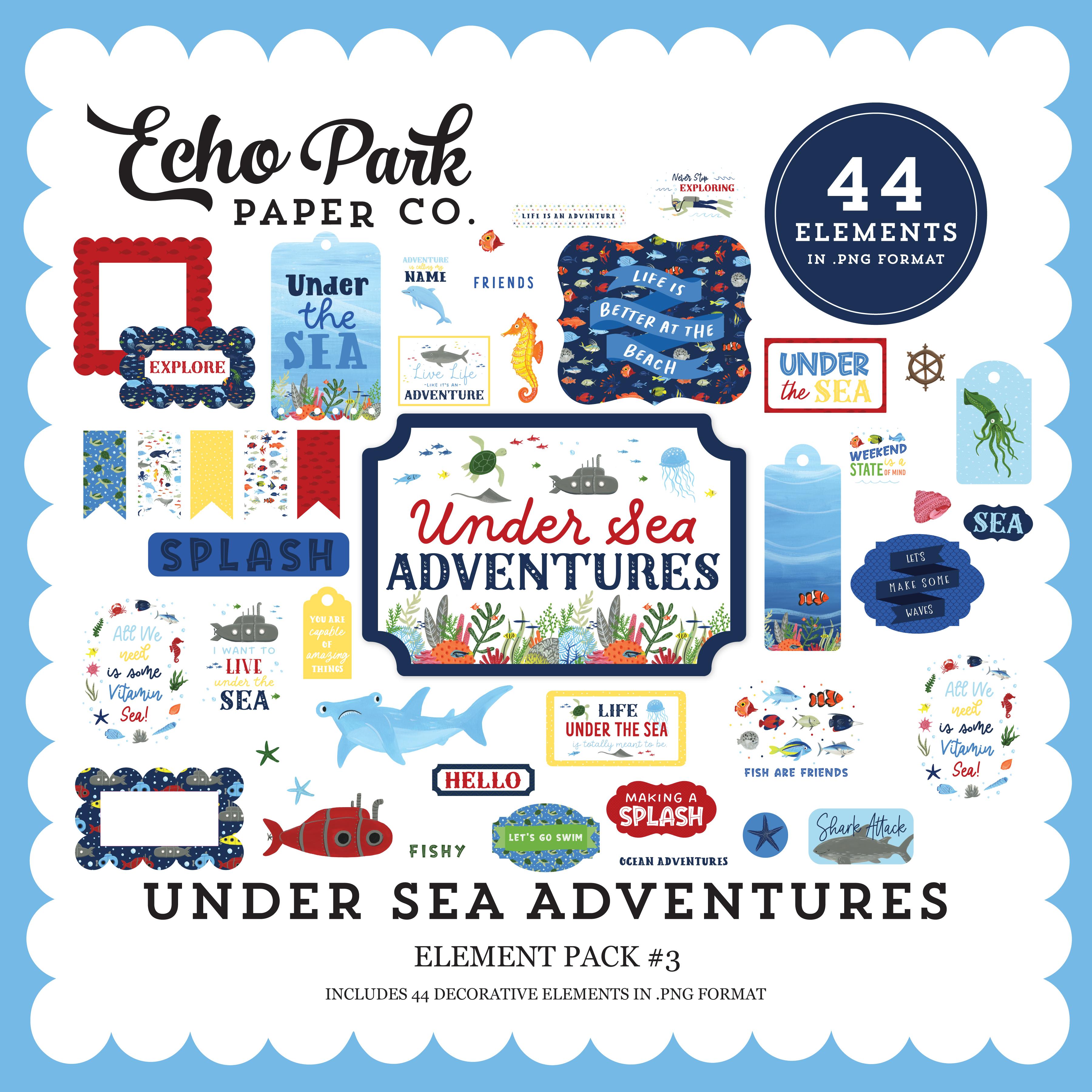 Under Sea Adventures Element Pack #3