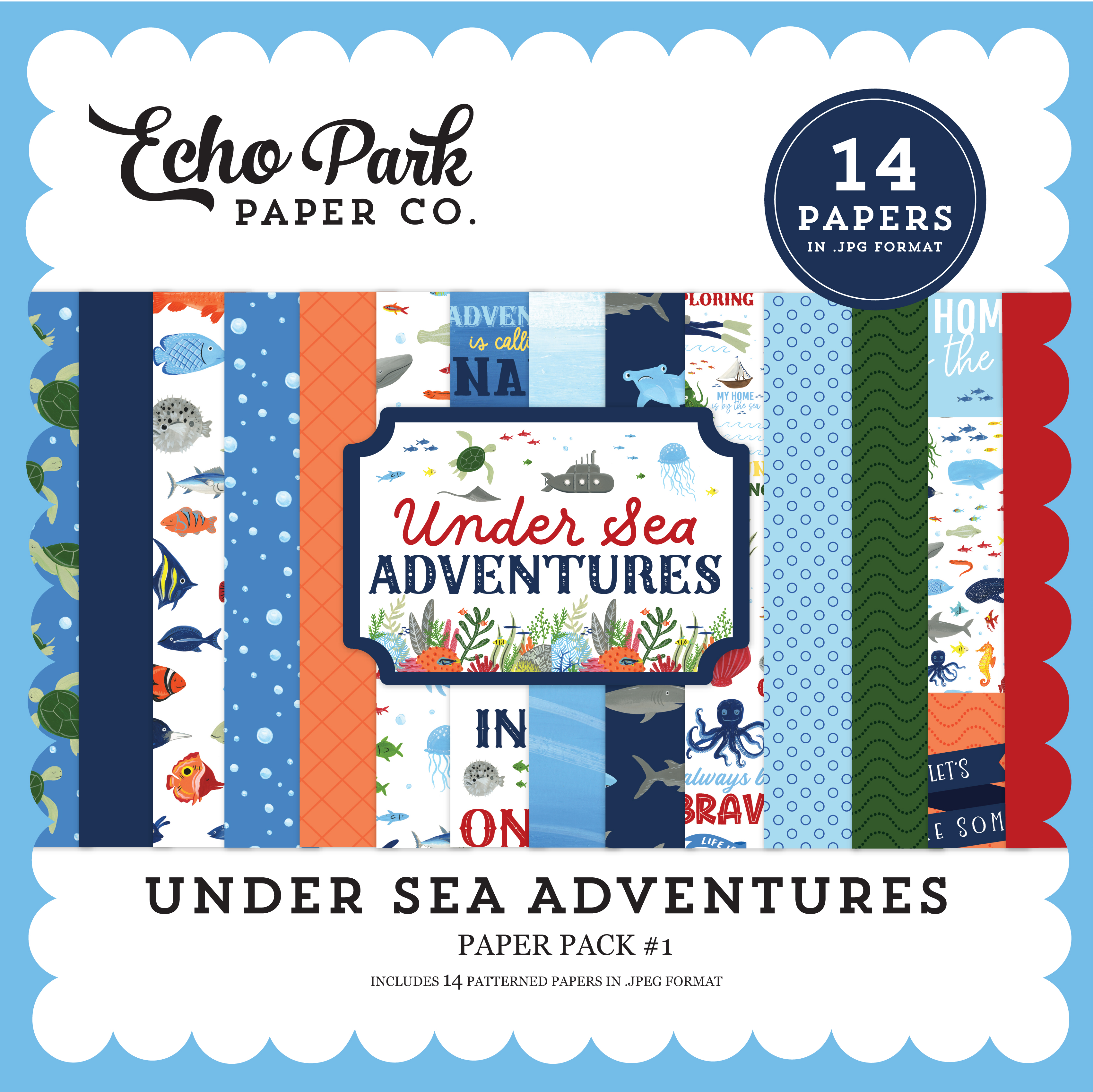Under Sea Adventures Paper Pack #1