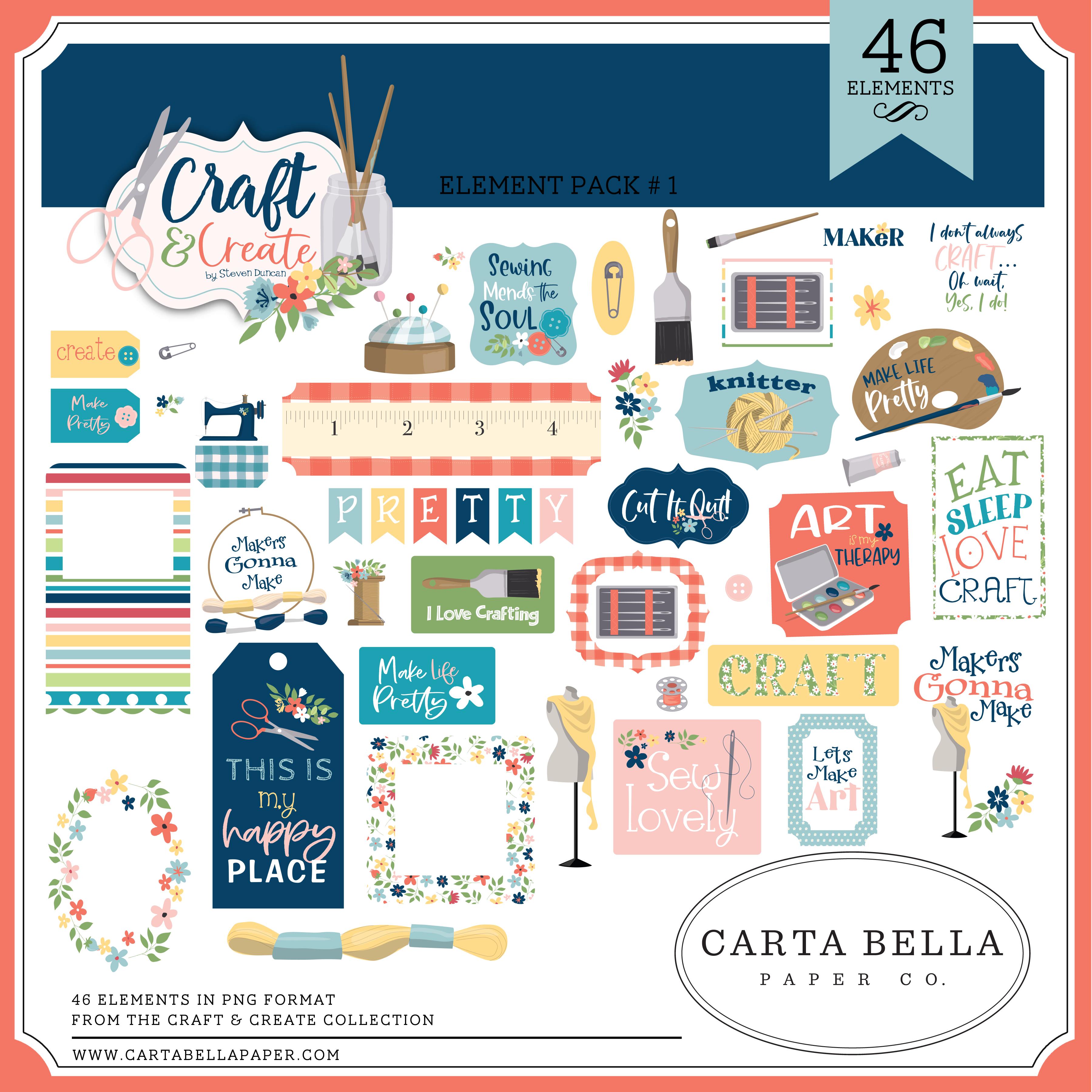 Craft & Create Element Pack #1
