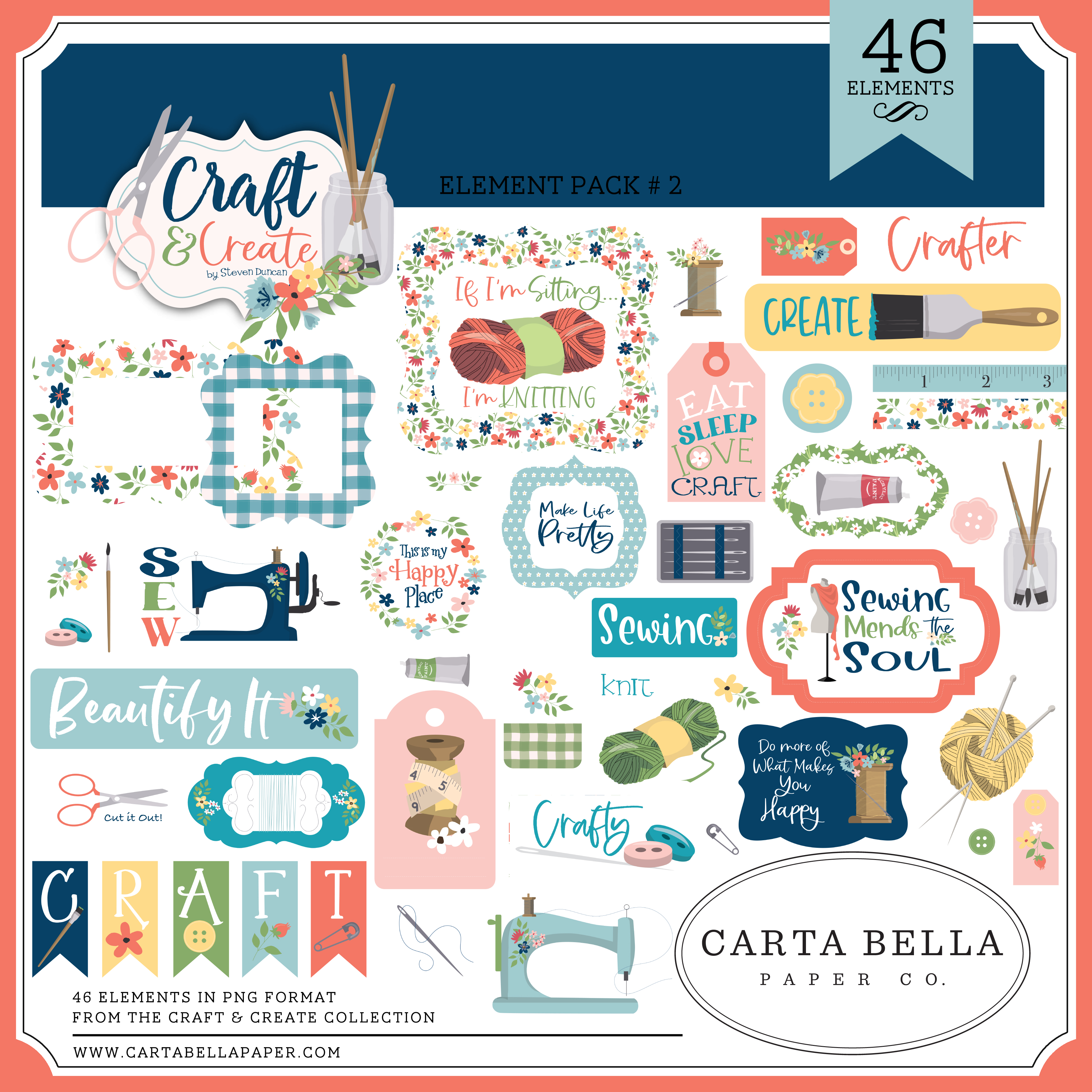 Craft & Create Element Pack #2