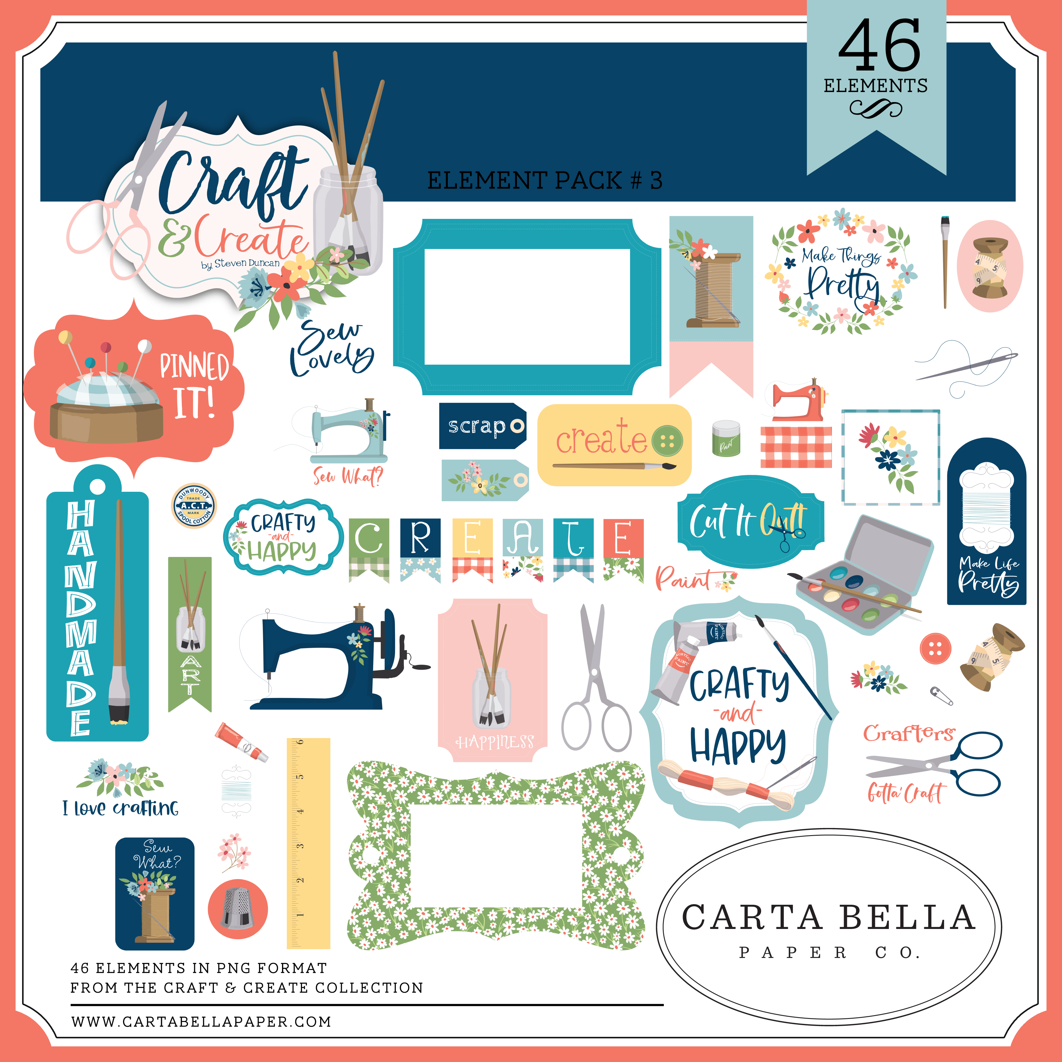 Craft & Create Element Pack #3