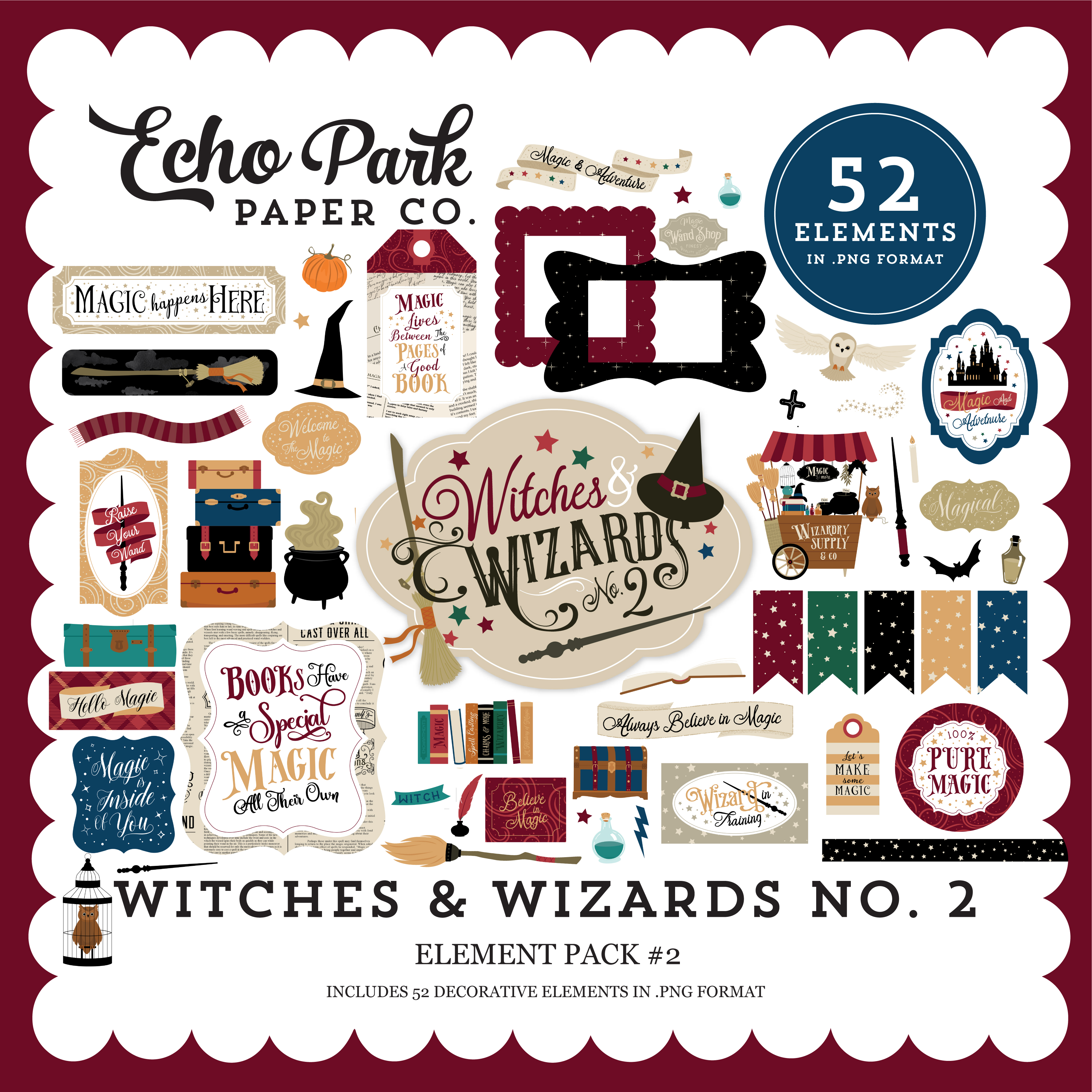 Witches & Wizards No. 2 Element Pack #2