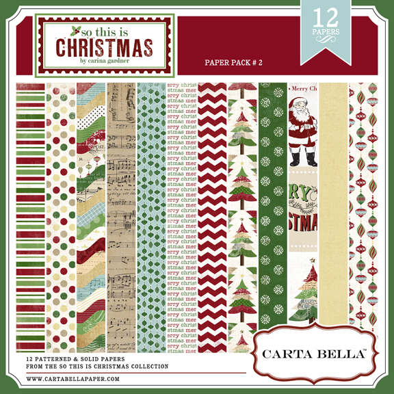 So This Is Christmas Paper Pack 2