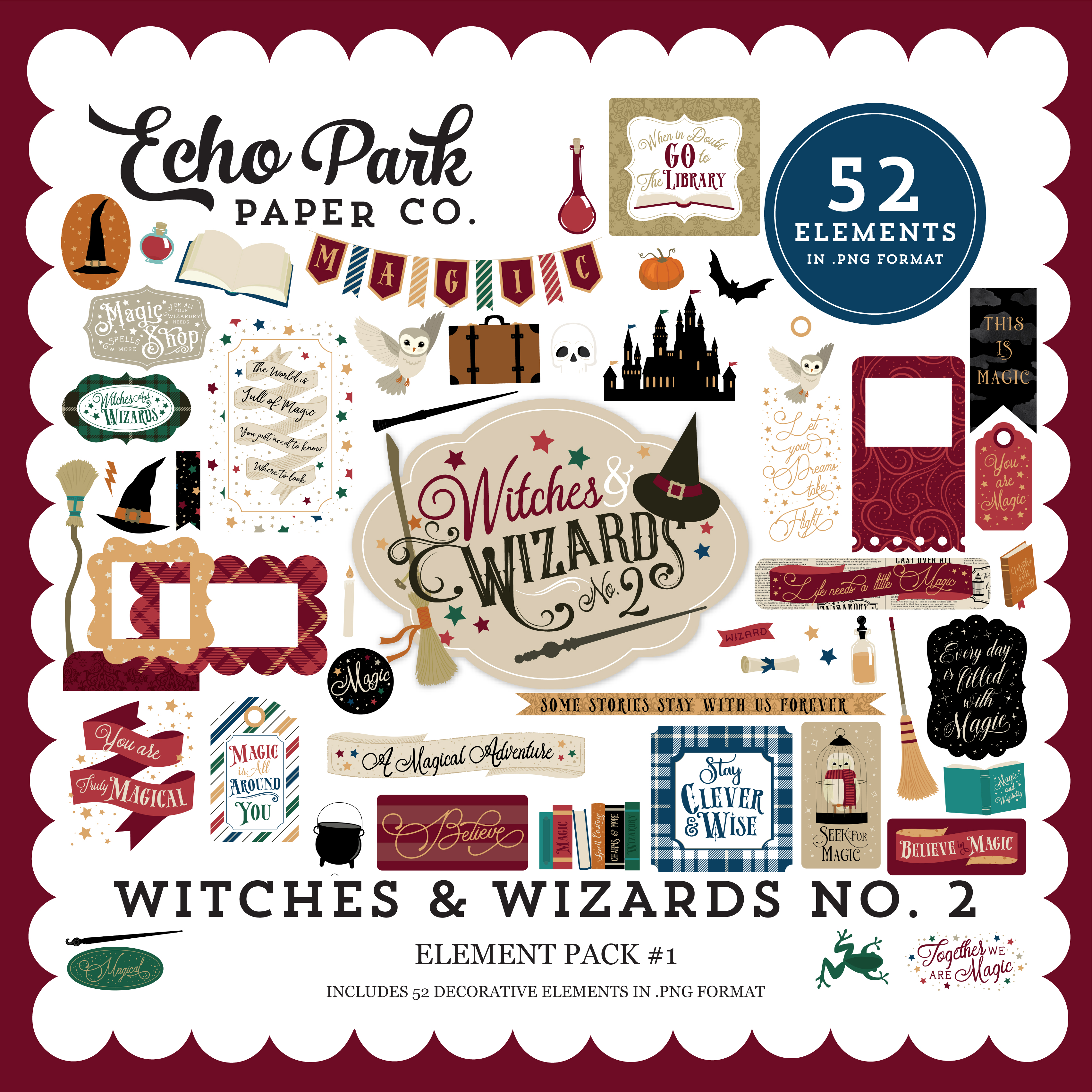 Witches & Wizards No. 2 Element Pack #1
