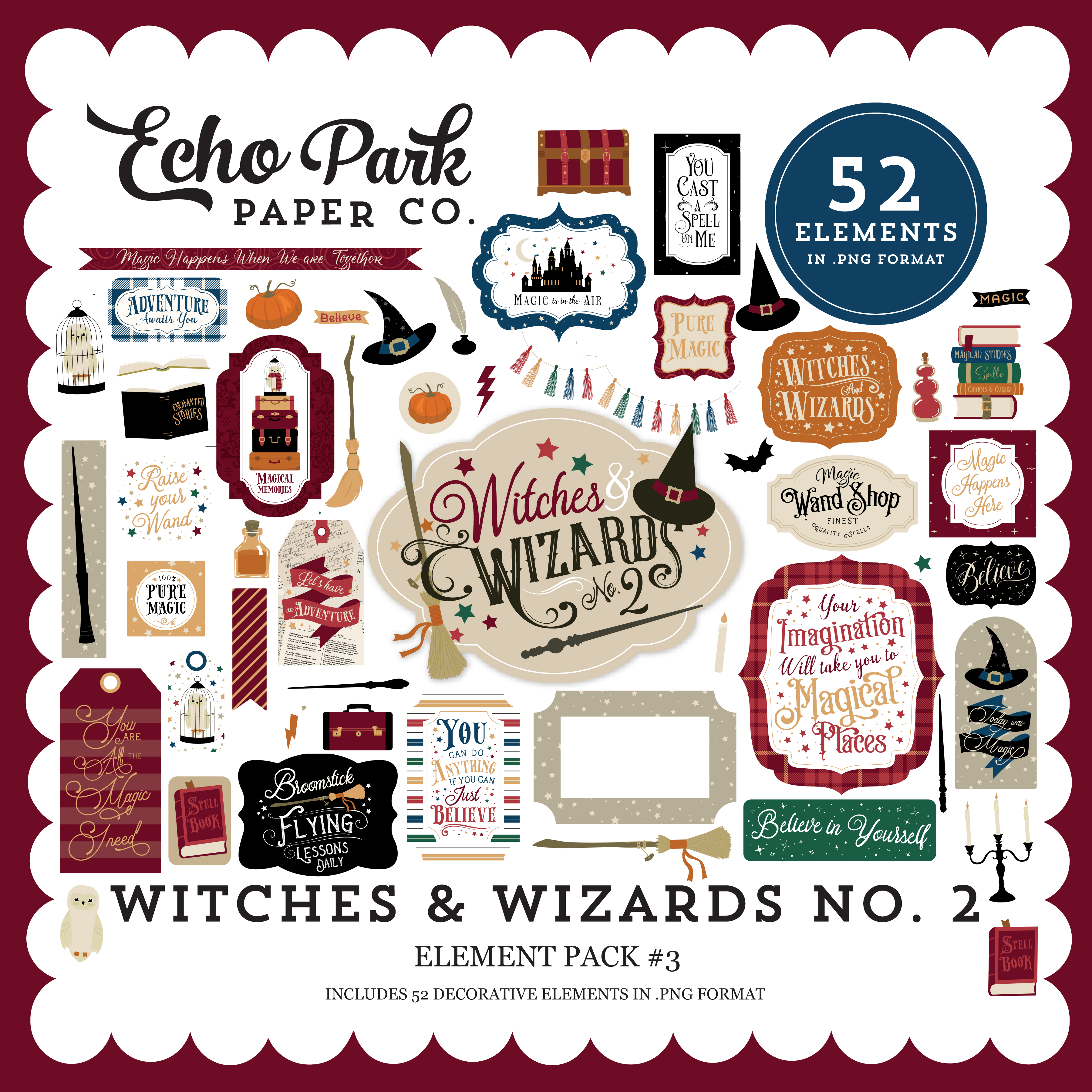 Witches & Wizards No. 2 Element Pack #3