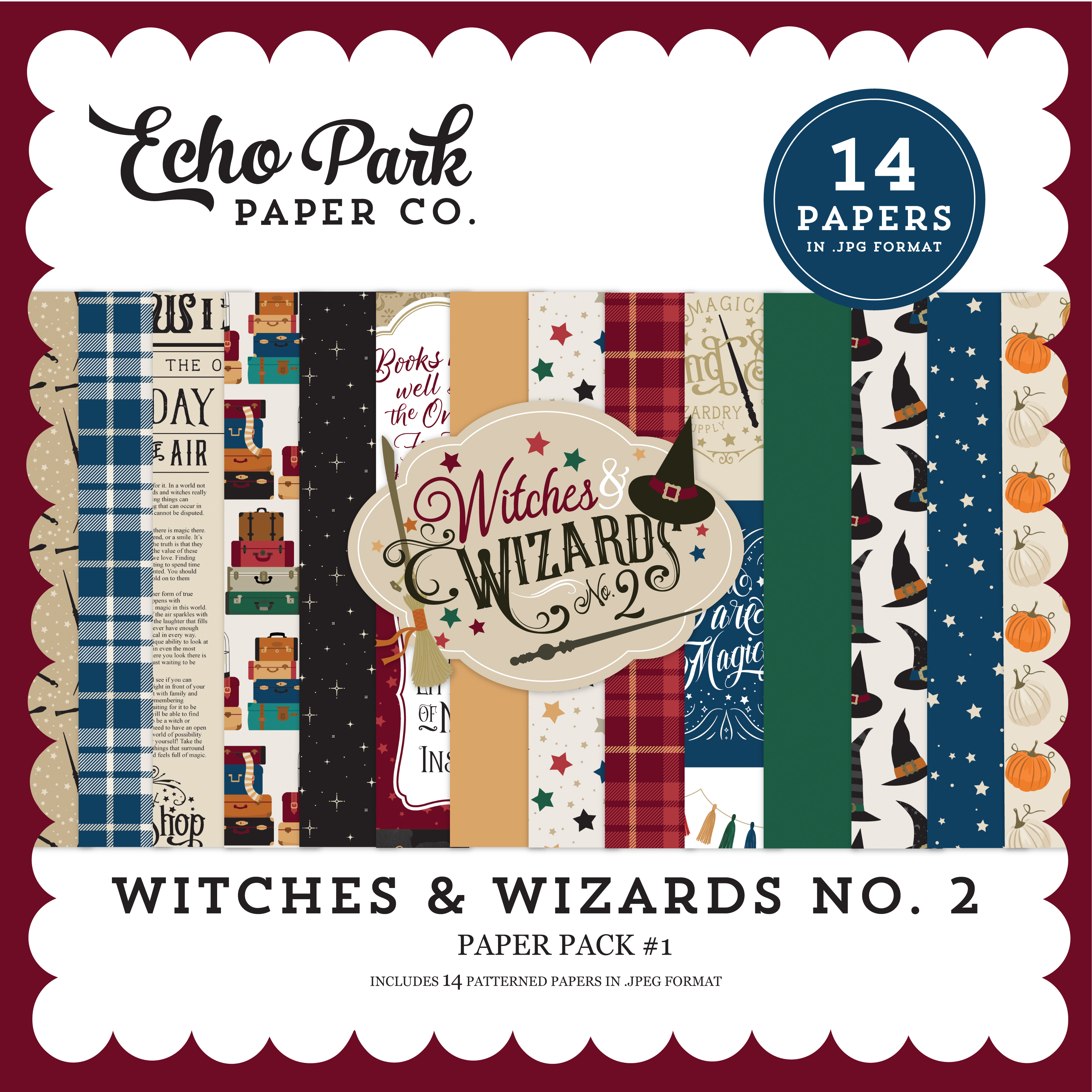 Witches & Wizards No. 2 Paper Pack #1