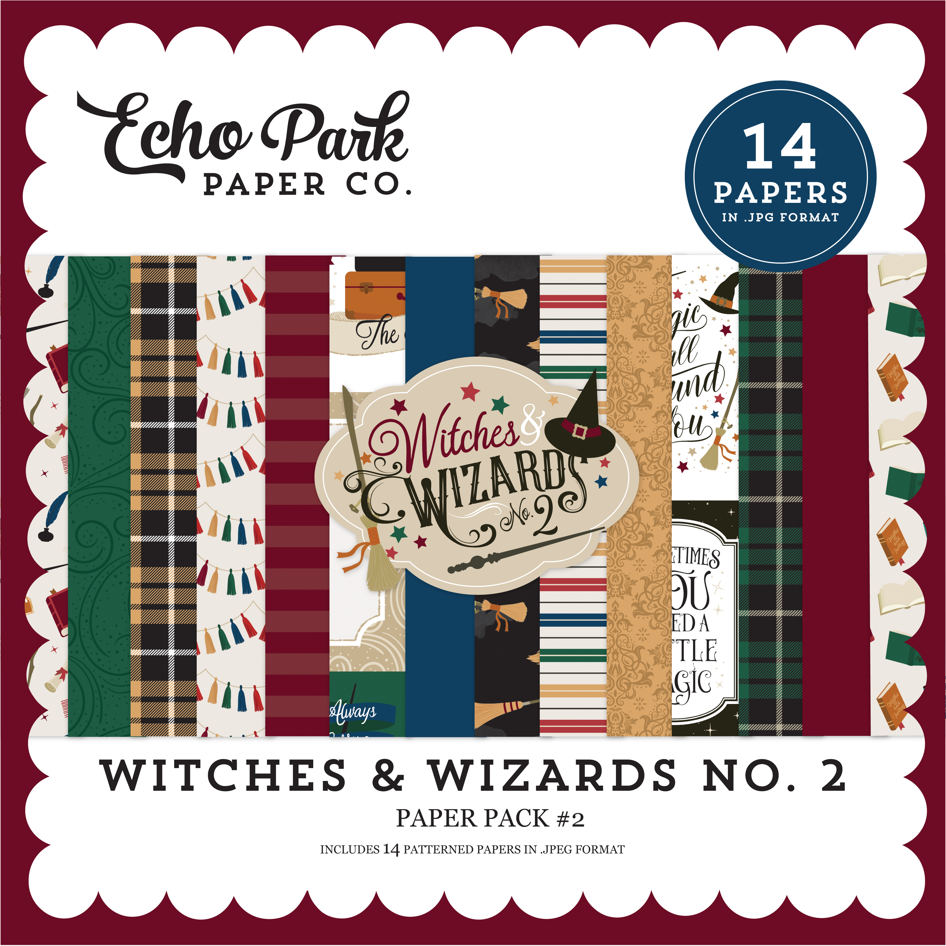 Witches & Wizards No. 2 Paper Pack #2