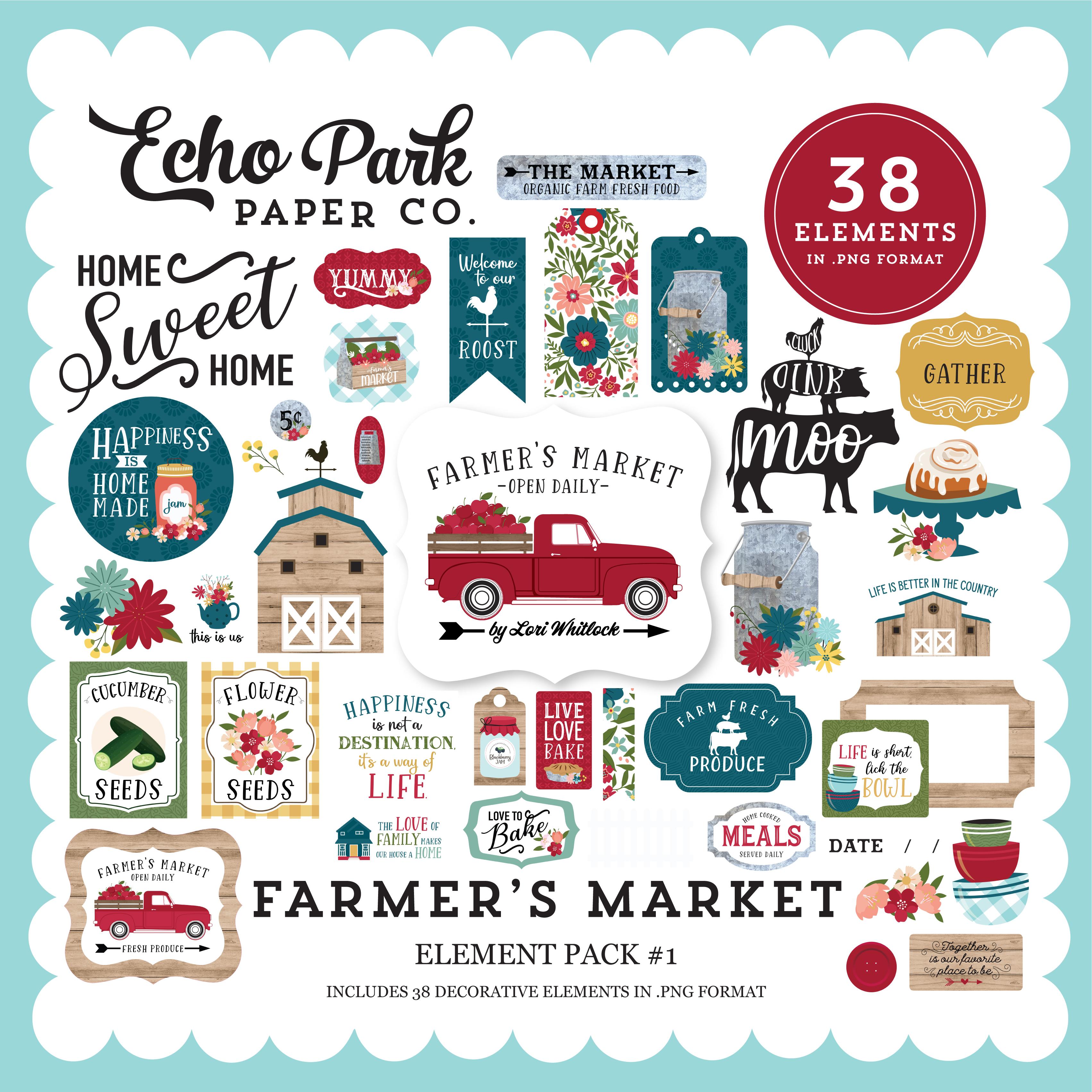 Farmer's Market Element Pack #1