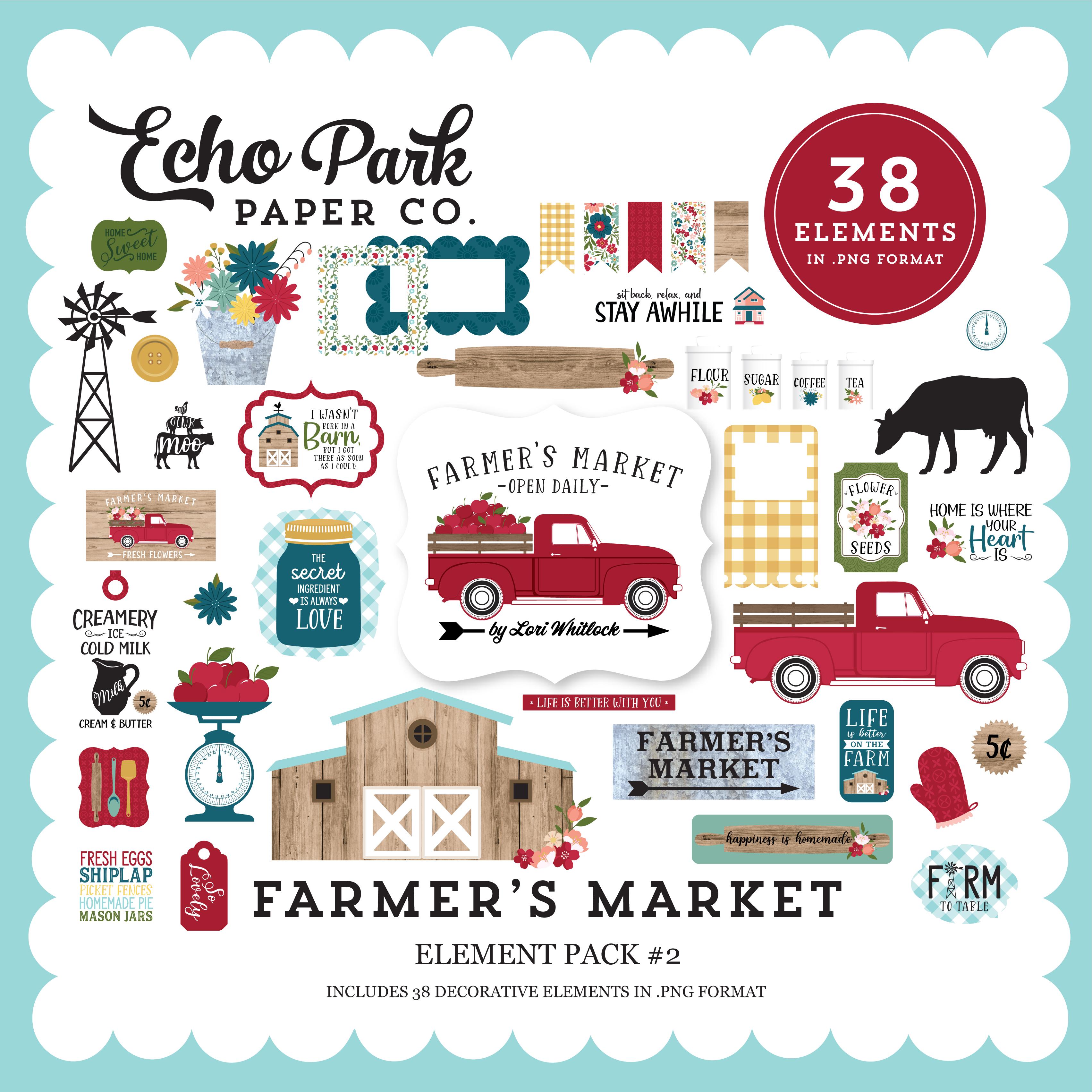 Farmer's Market Element Pack #2
