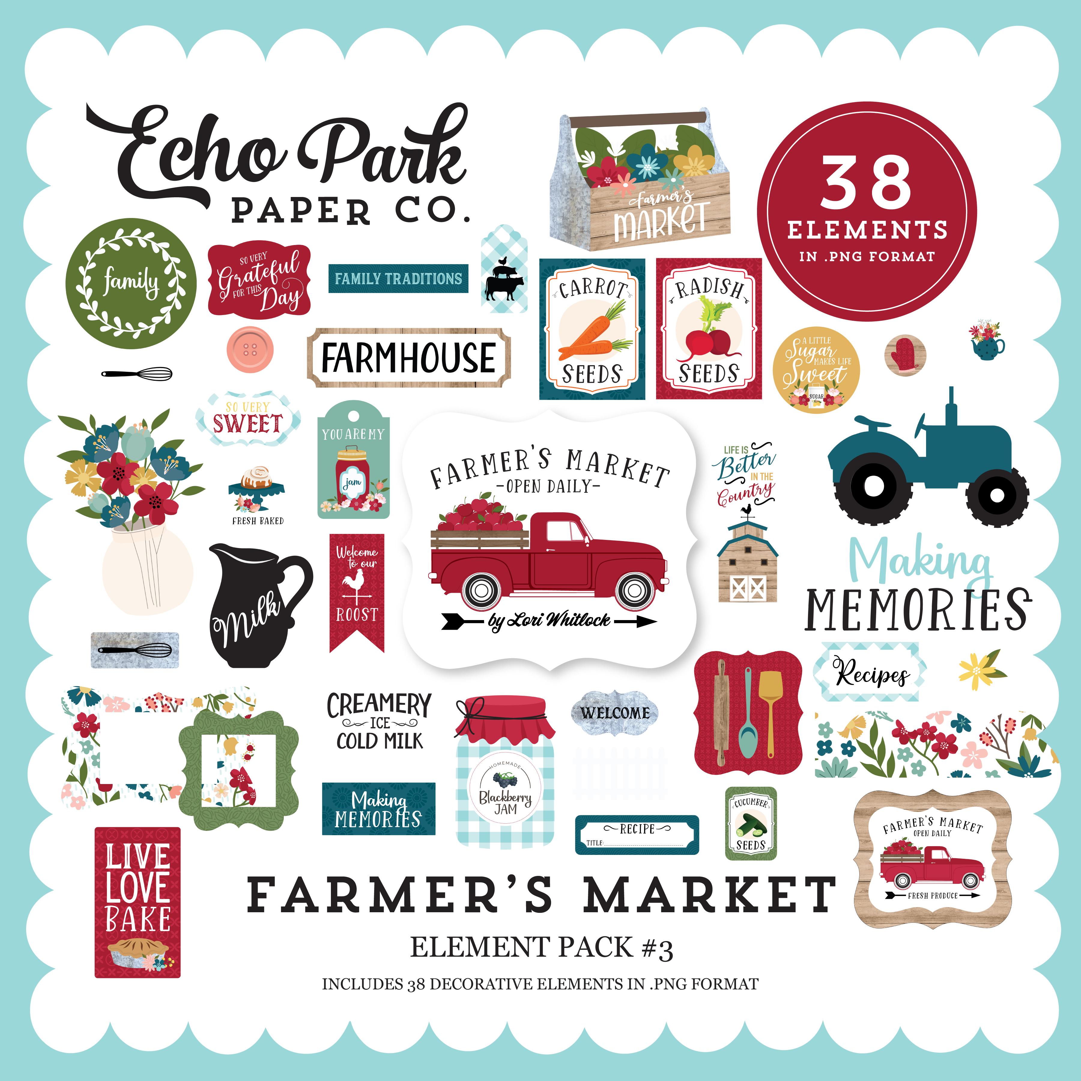 Farmer's Market Element Pack #3