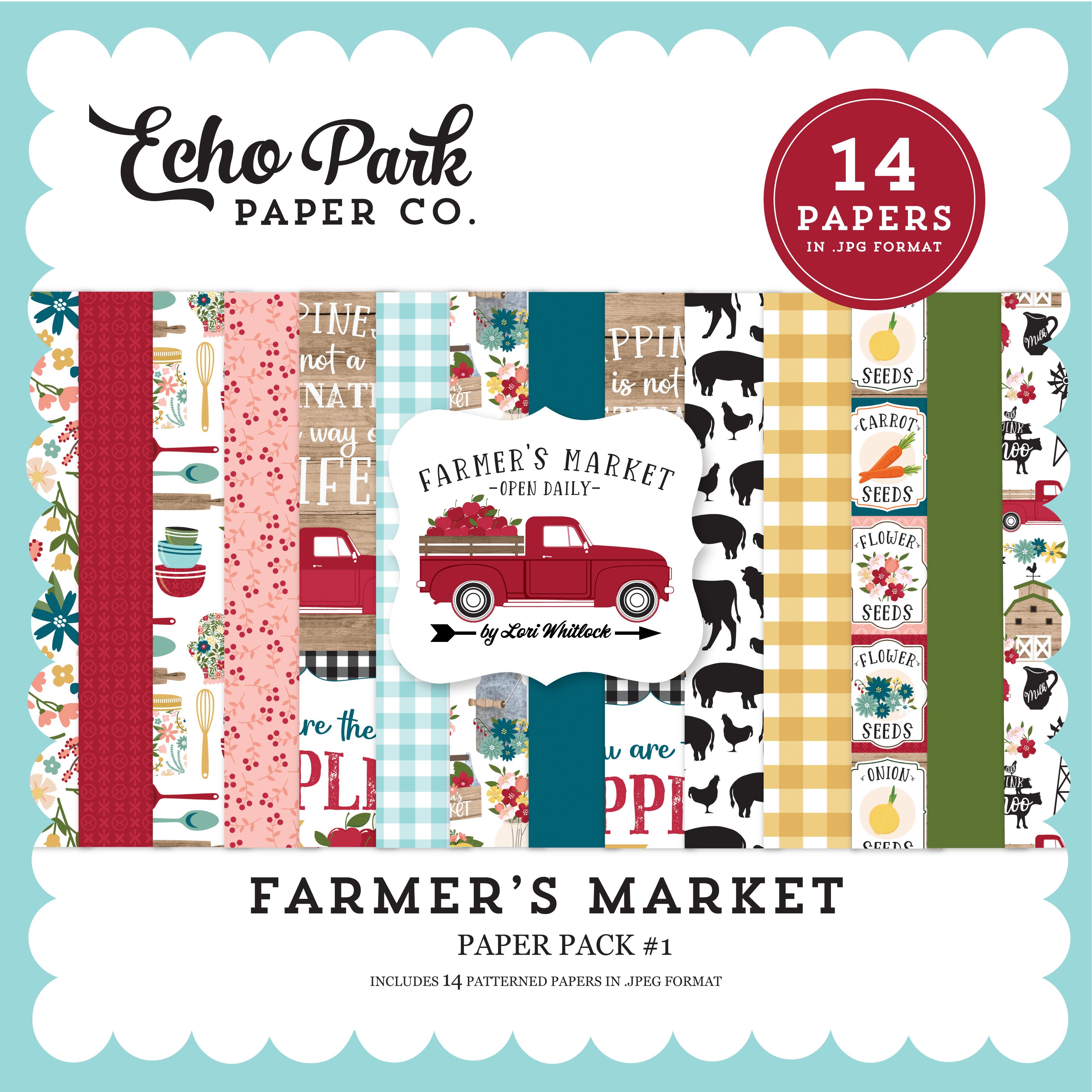 Farmer's Market Paper Pack #1