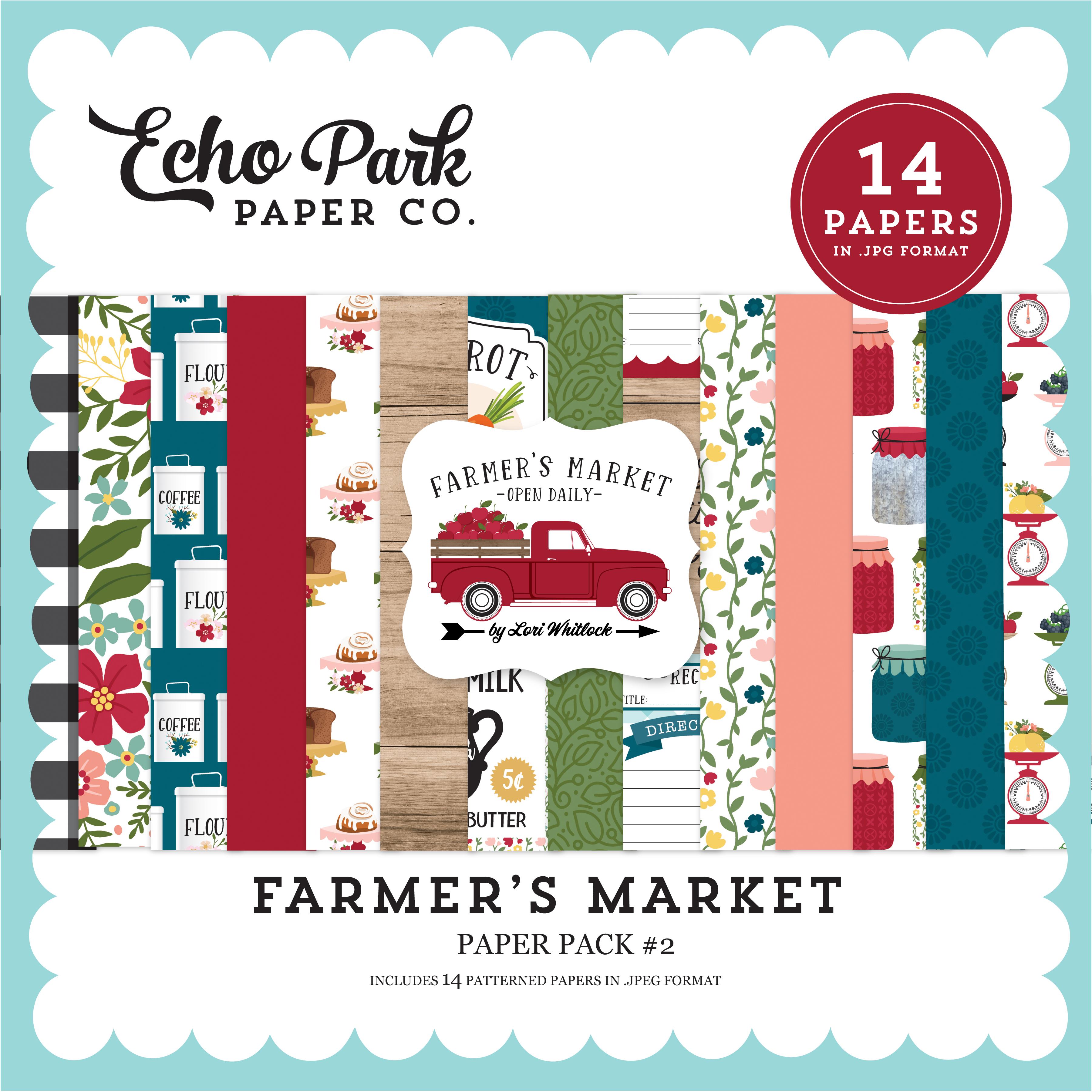 Farmer's Market Paper Pack #2