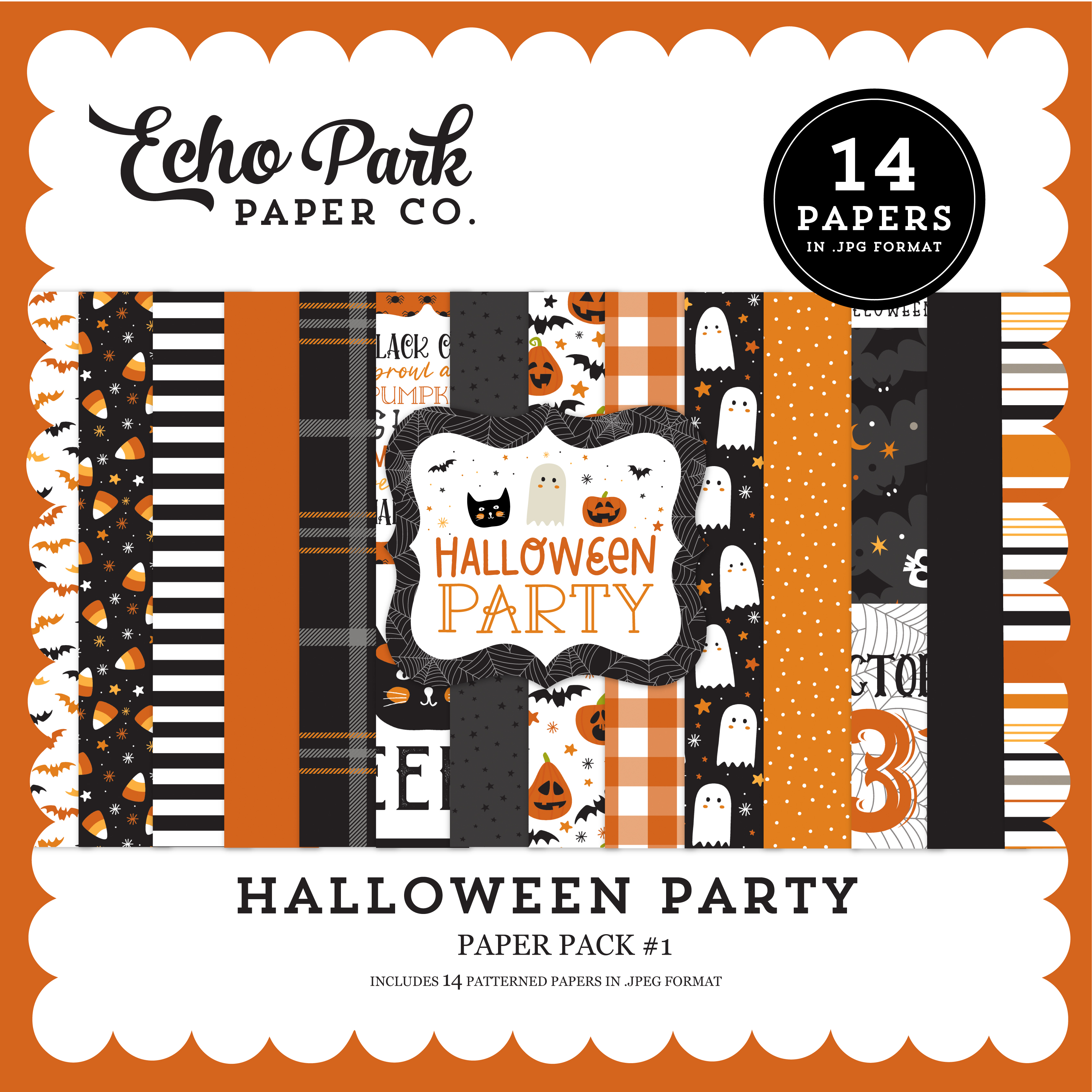Halloween Party Paper Pack #1