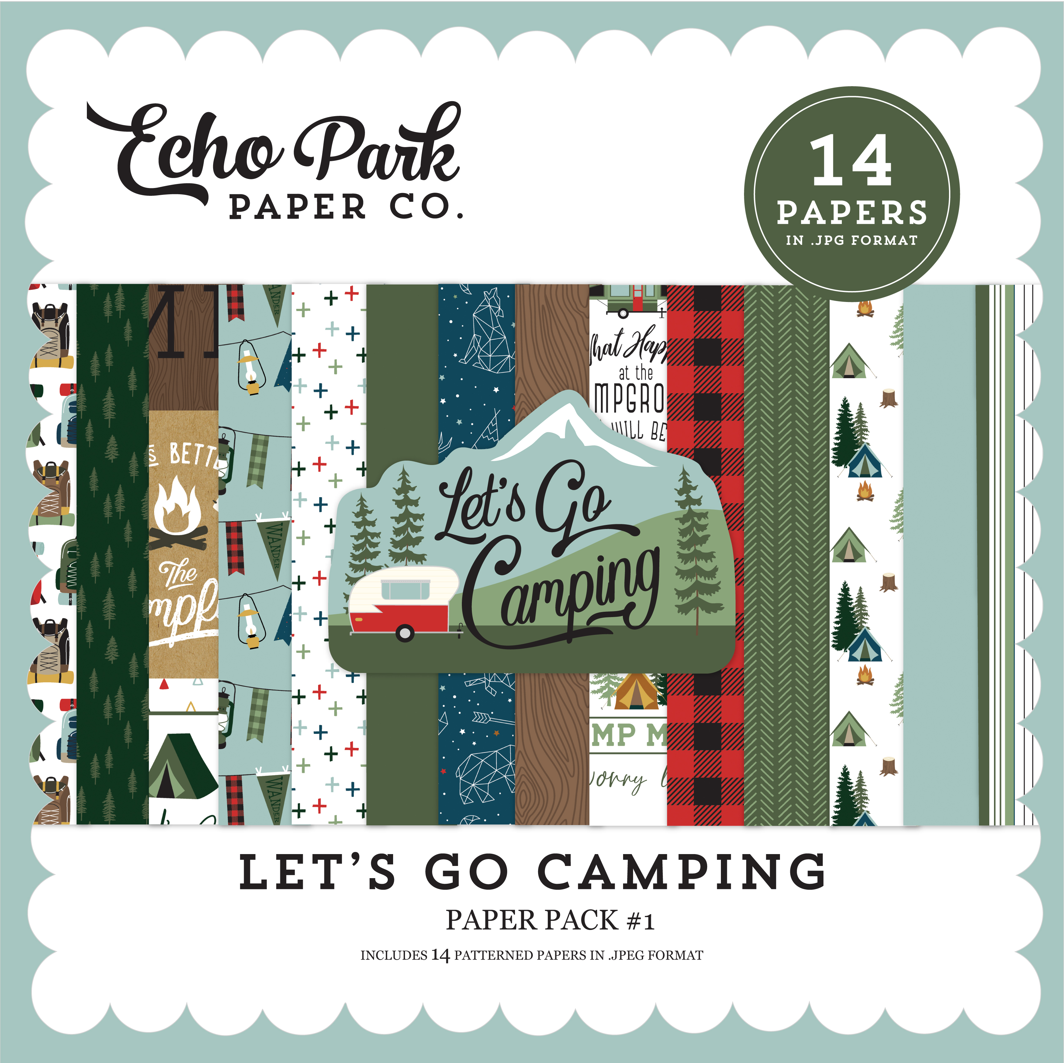 Let's Go Camping Mega Collection