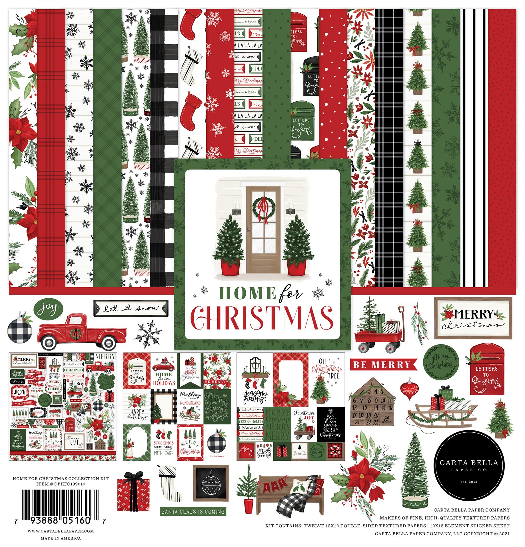 Home For Christmas Collection Kit