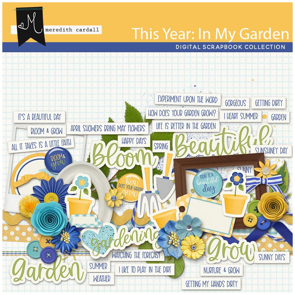 This Year: In My Garden Element Pack