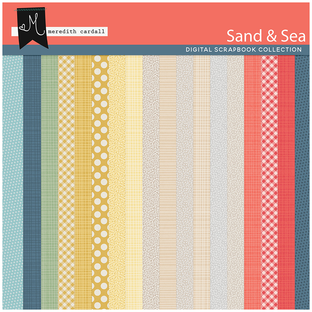 Sand & Sea Paper Pack