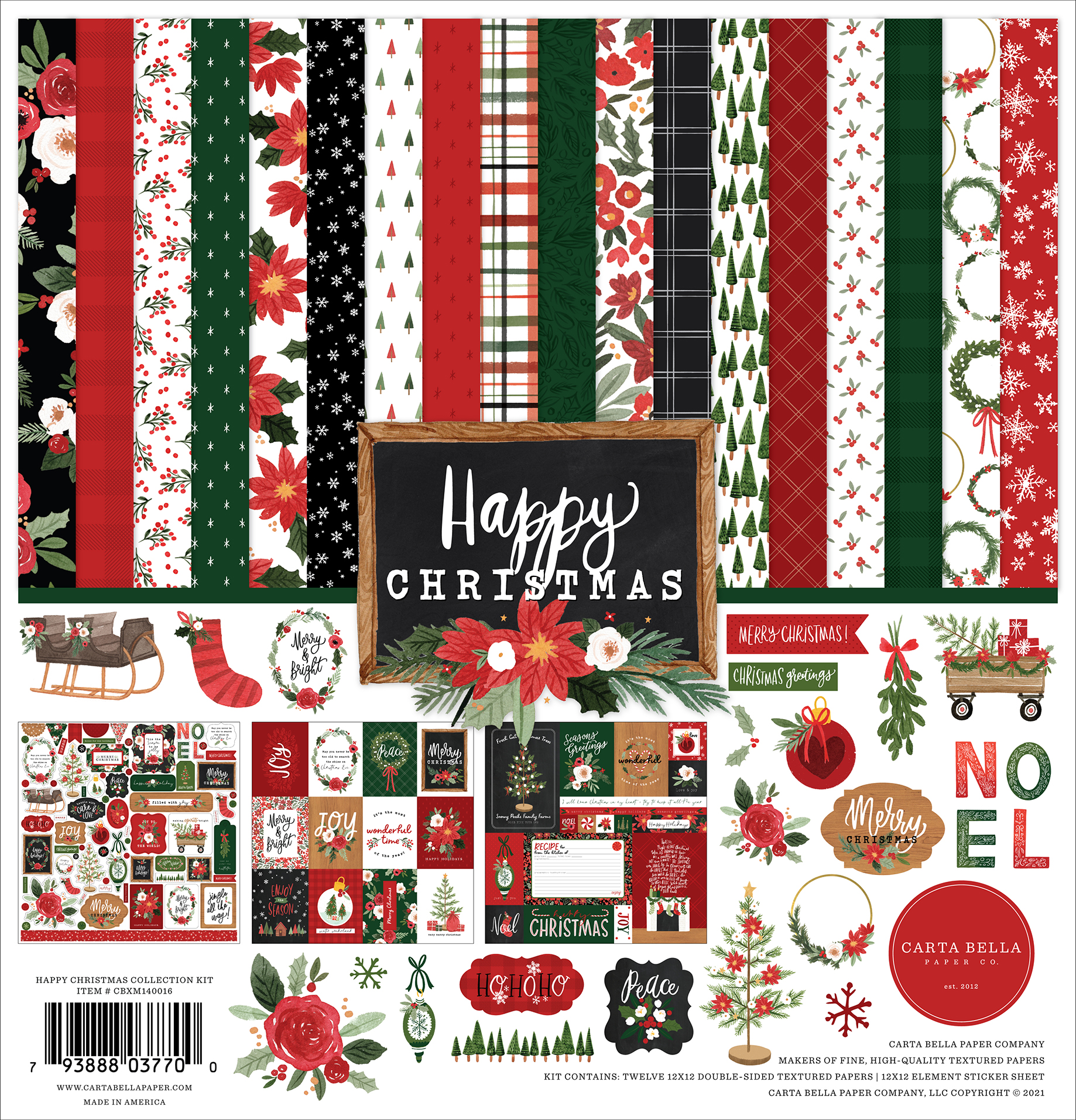 Happy Christmas Collection Kit