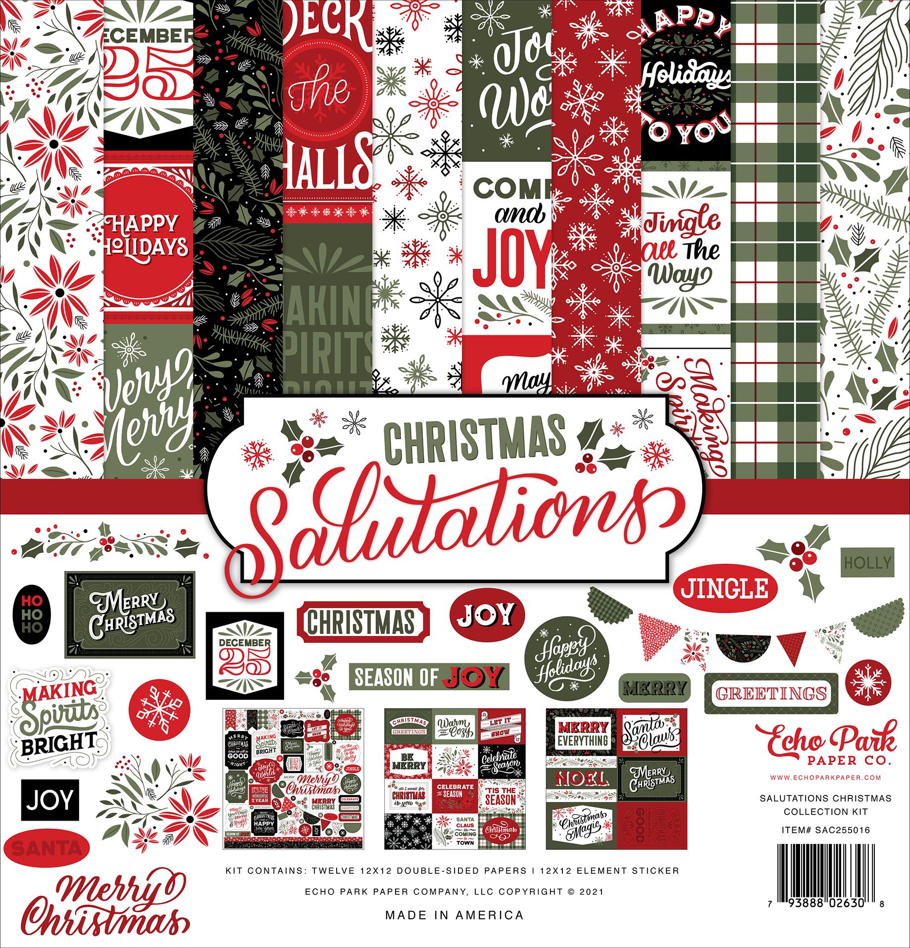 Salutations Christmas Collection Kit