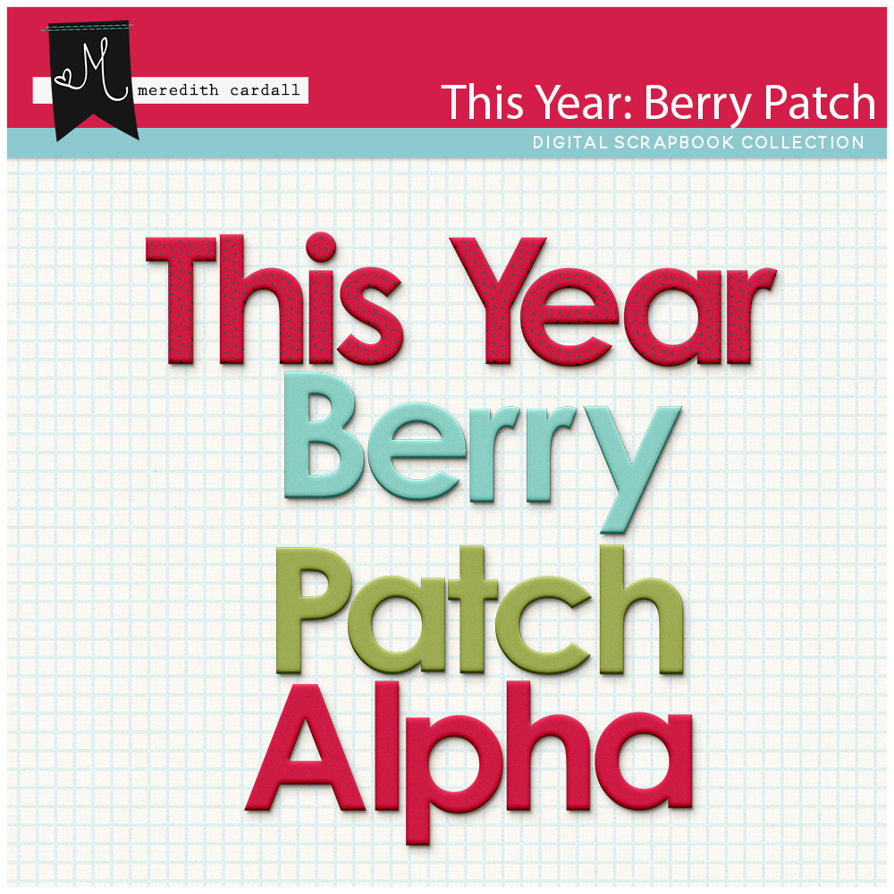 This Year: Berry Patch Alpha Pack