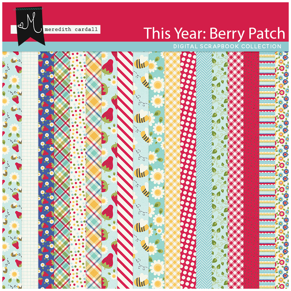 This Year: Berry Patch Paper Pack