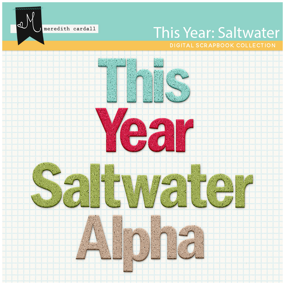 This Year: Saltwater Alpha Pack