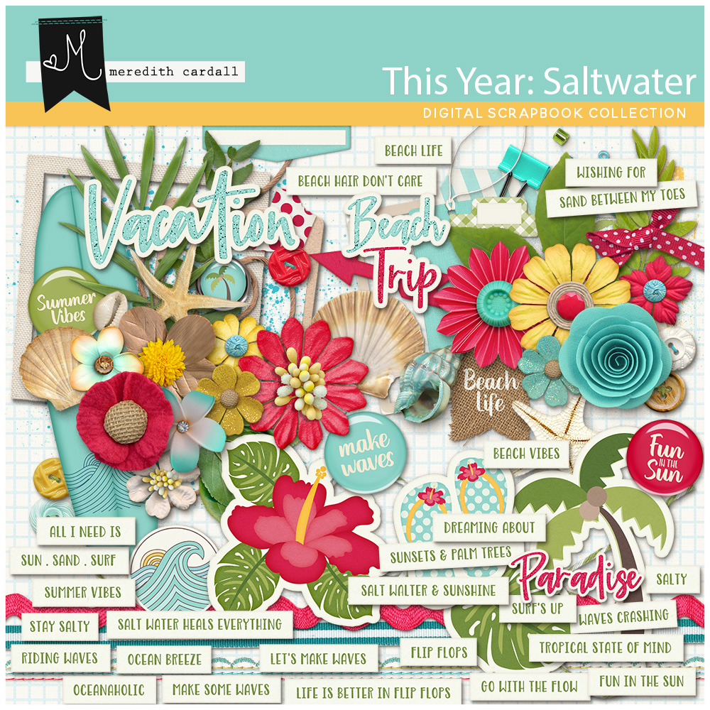 This Year: Saltwater Collection