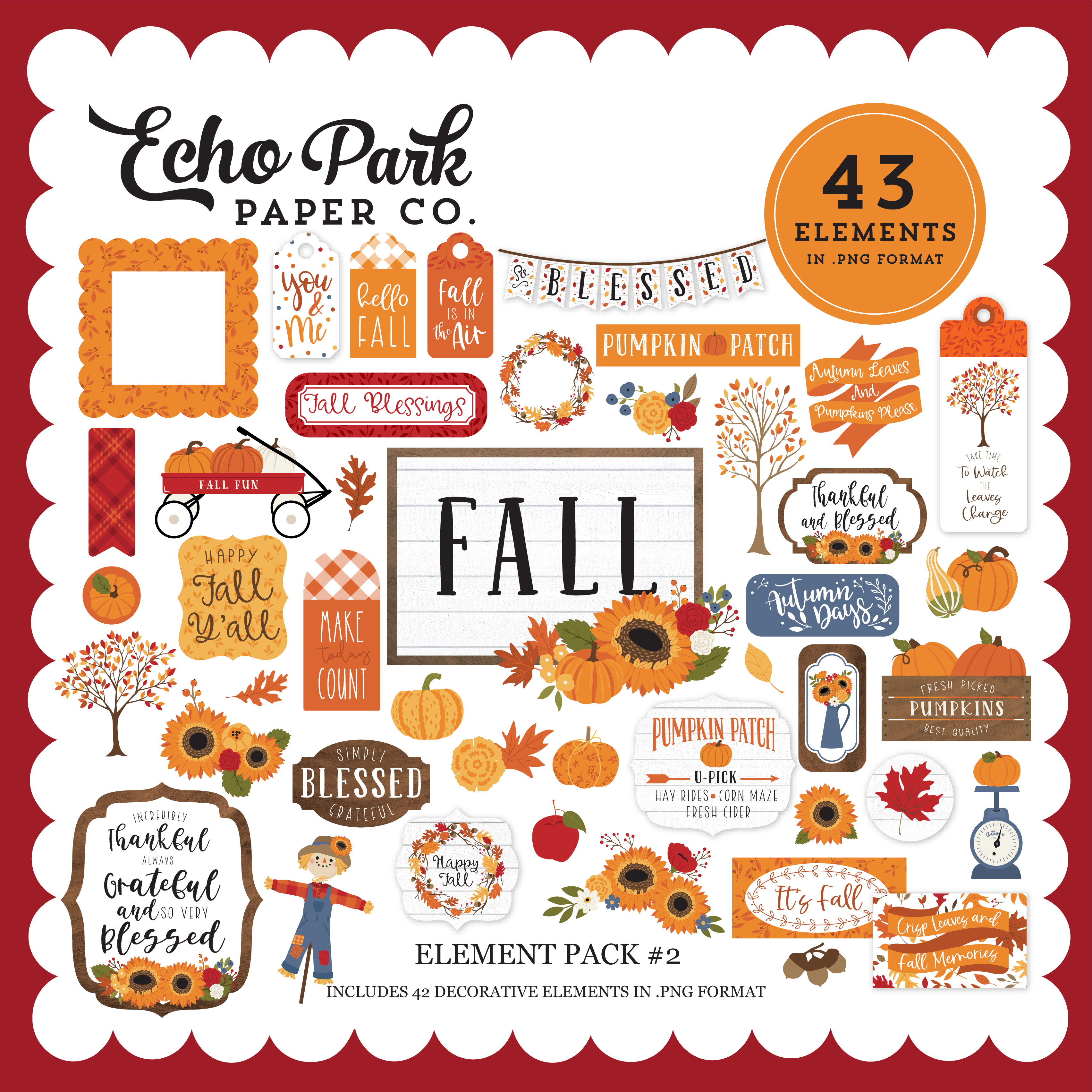 Fall Element Pack #2