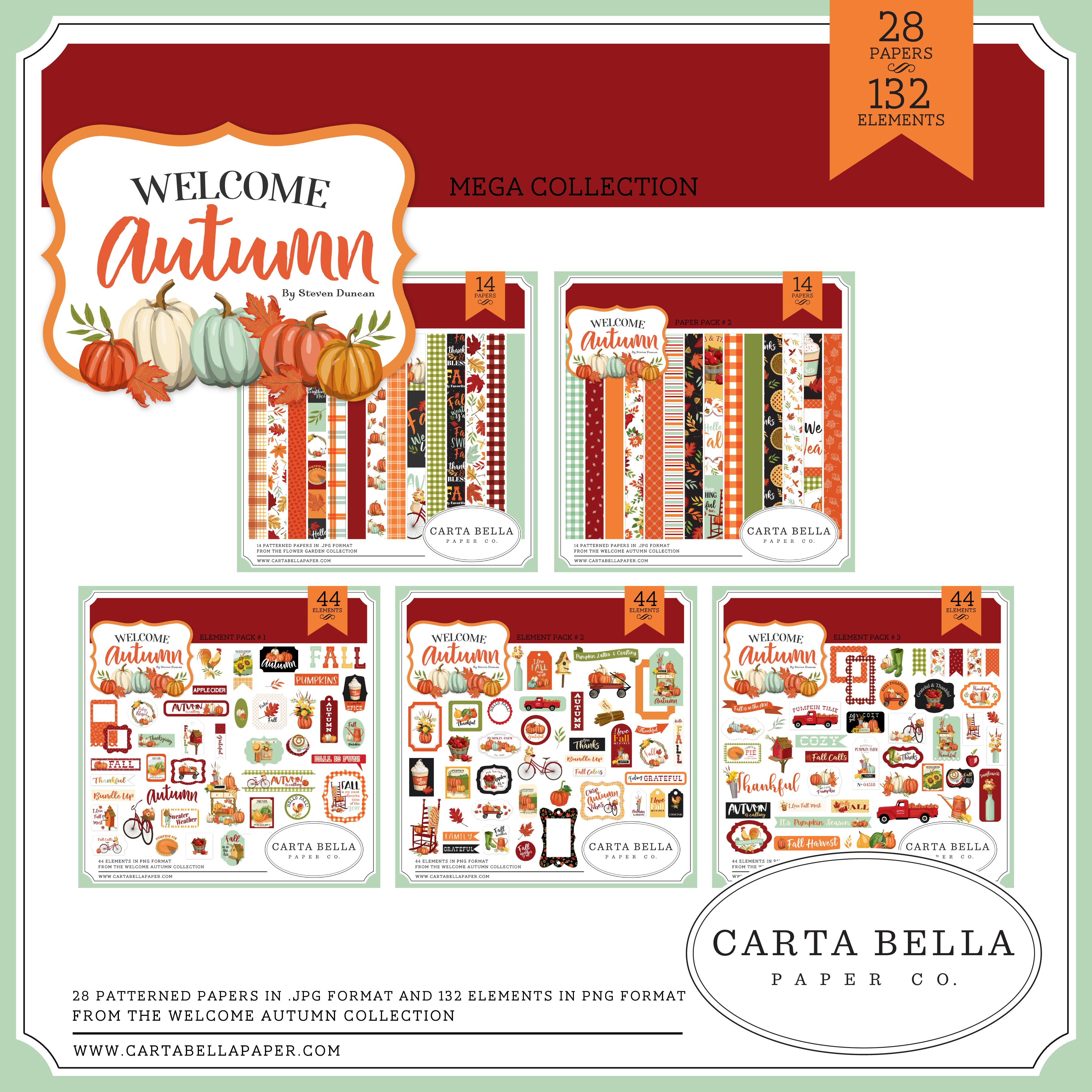 Welcome Autumn Mega Collection