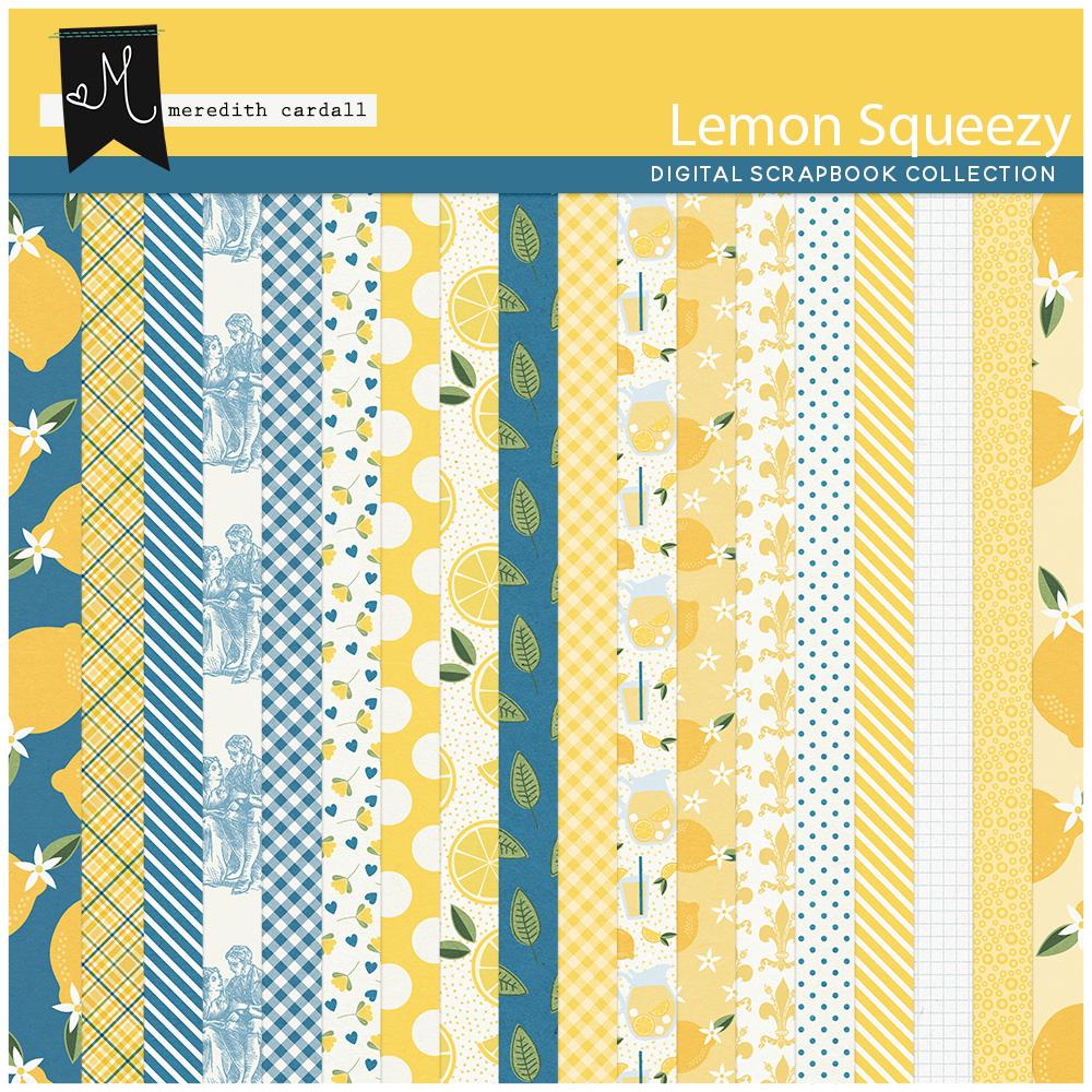 Lemon Squeezy Paper Pack