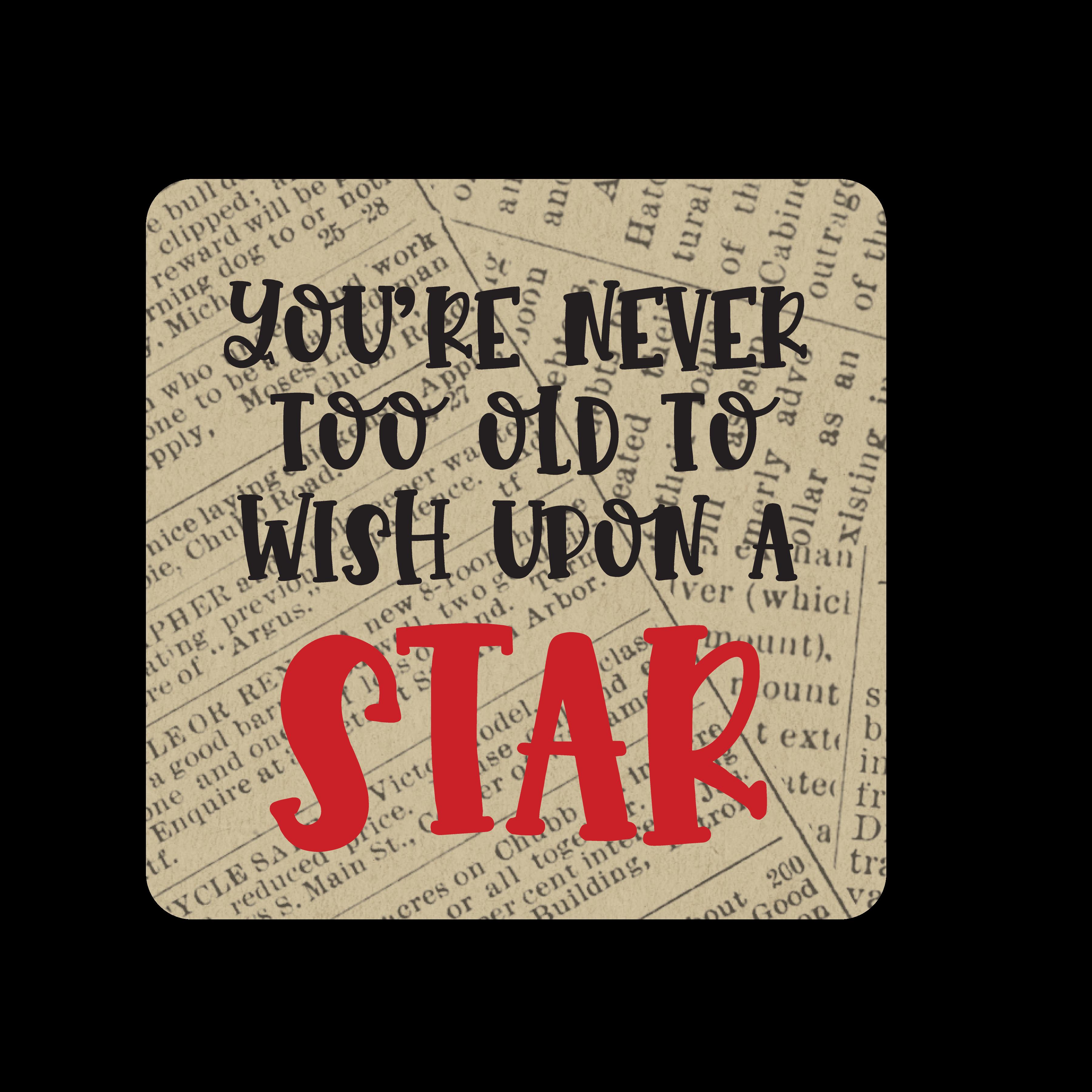 Star Wish SVG Cut File
