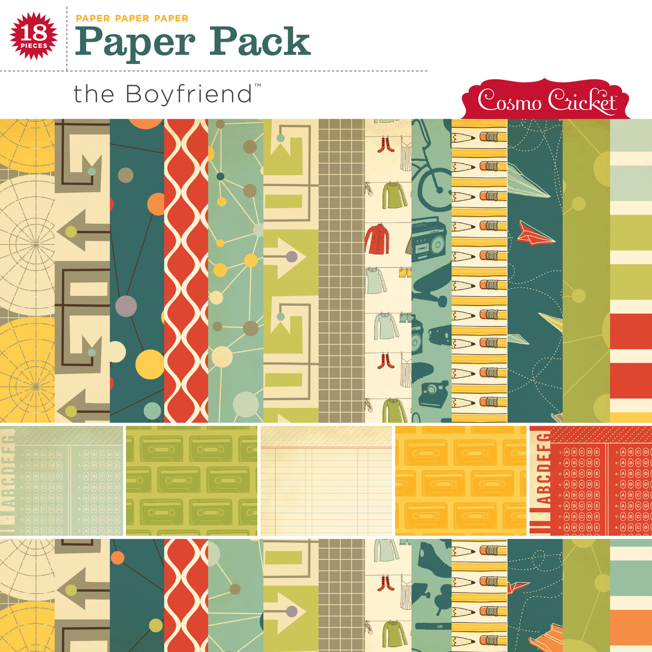 The Boyfriend Paper Pack