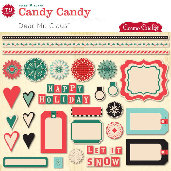 Dear Mr. Claus Candy Candy