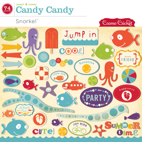 Snorkel Candy Candy