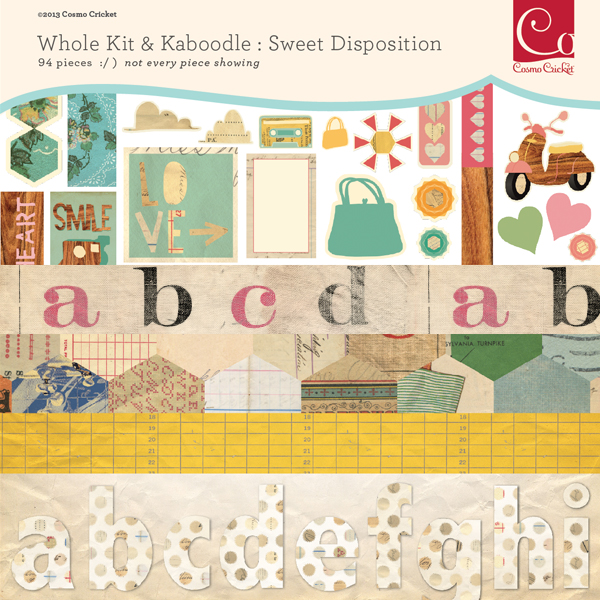 Sweet Disposition Whole Kit & Kaboodle