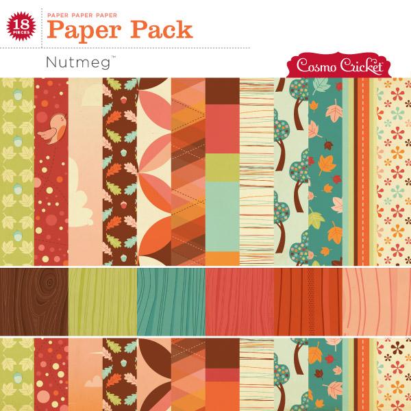 Nutmeg Paper Pack