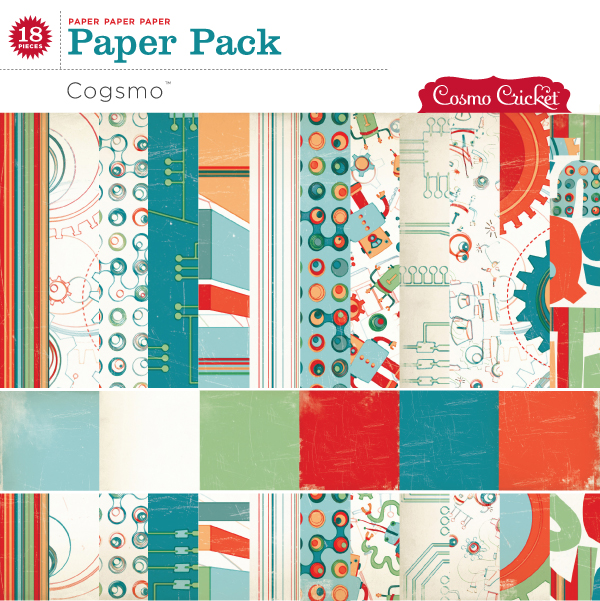 Cogsmo Paper Pack