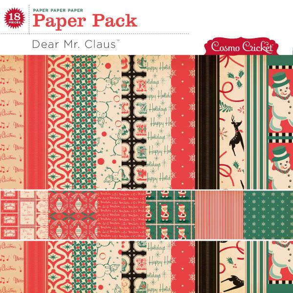 Dear Mr. Claus Paper Pack