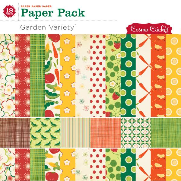 Garden Variety Paper Pack