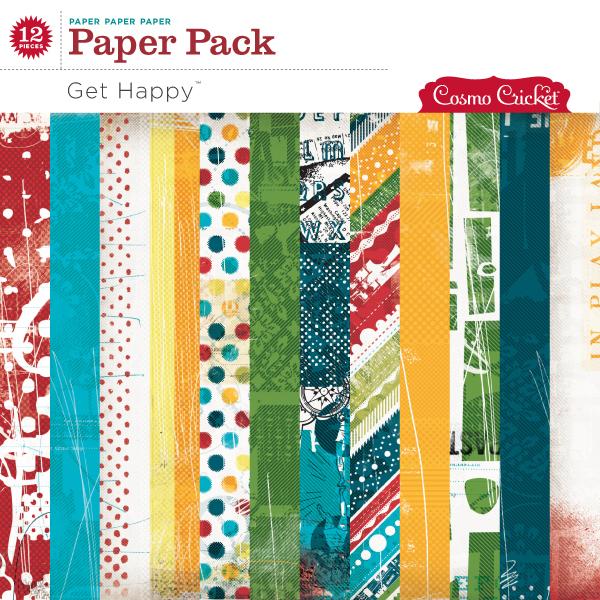 Get Happy Paper Pack