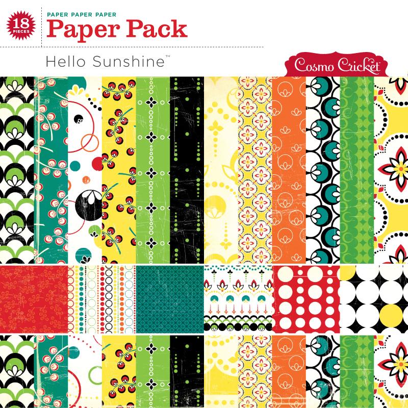 Hello Sunshine Paper Pack