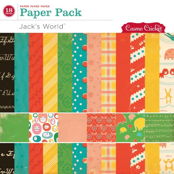 Jack's World Paper Pack