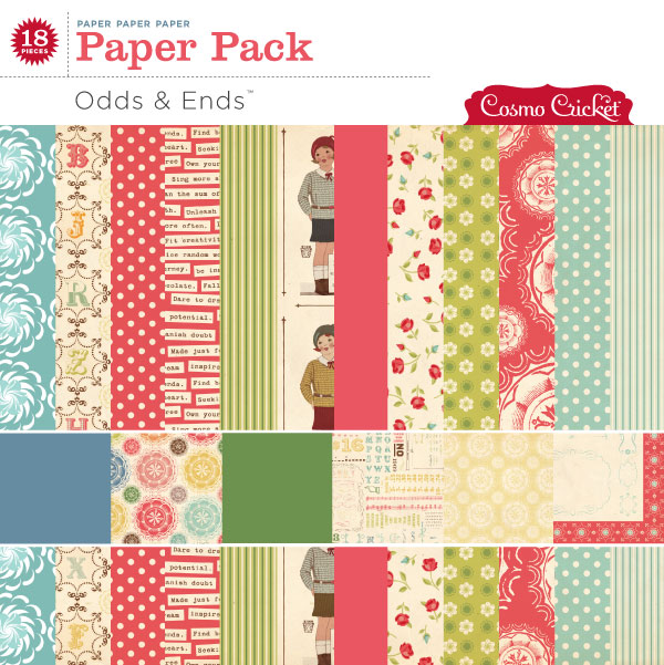 Odds & Ends Paper Pack