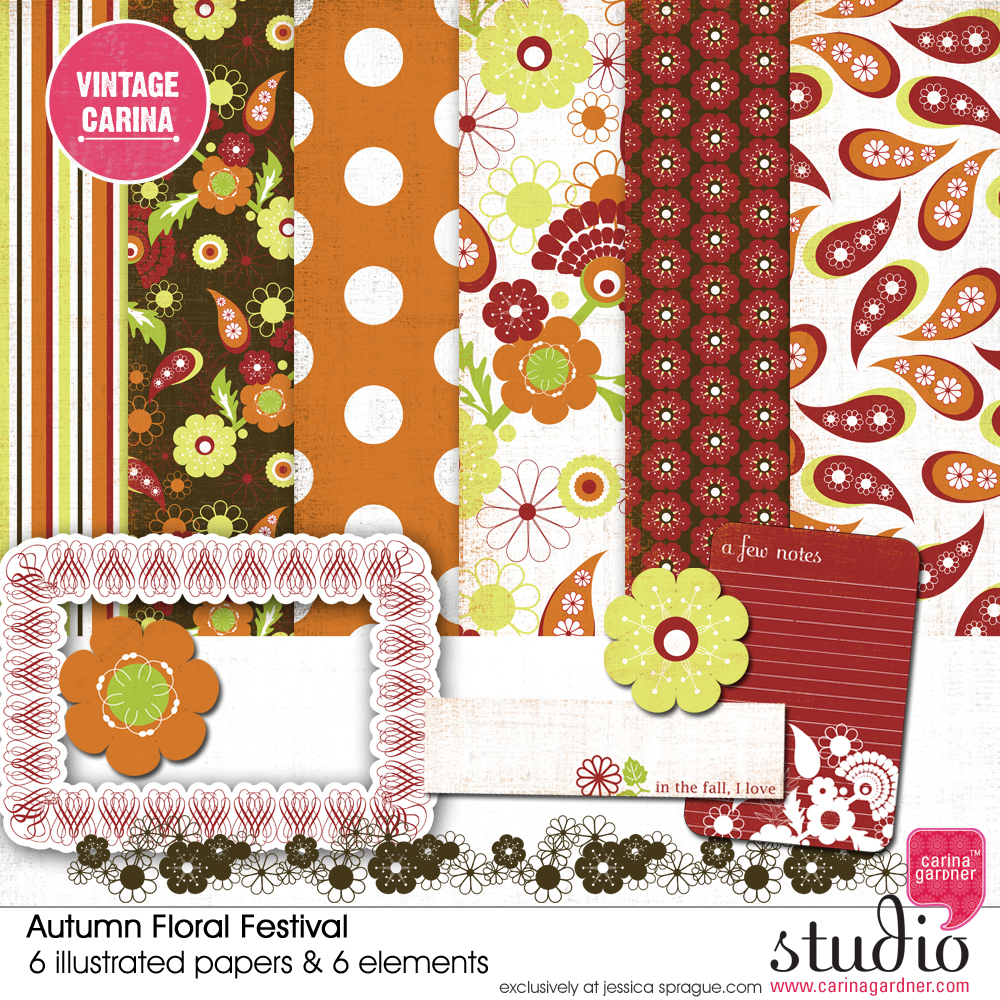AUTUMN FLORAL FESTIVAL KIT